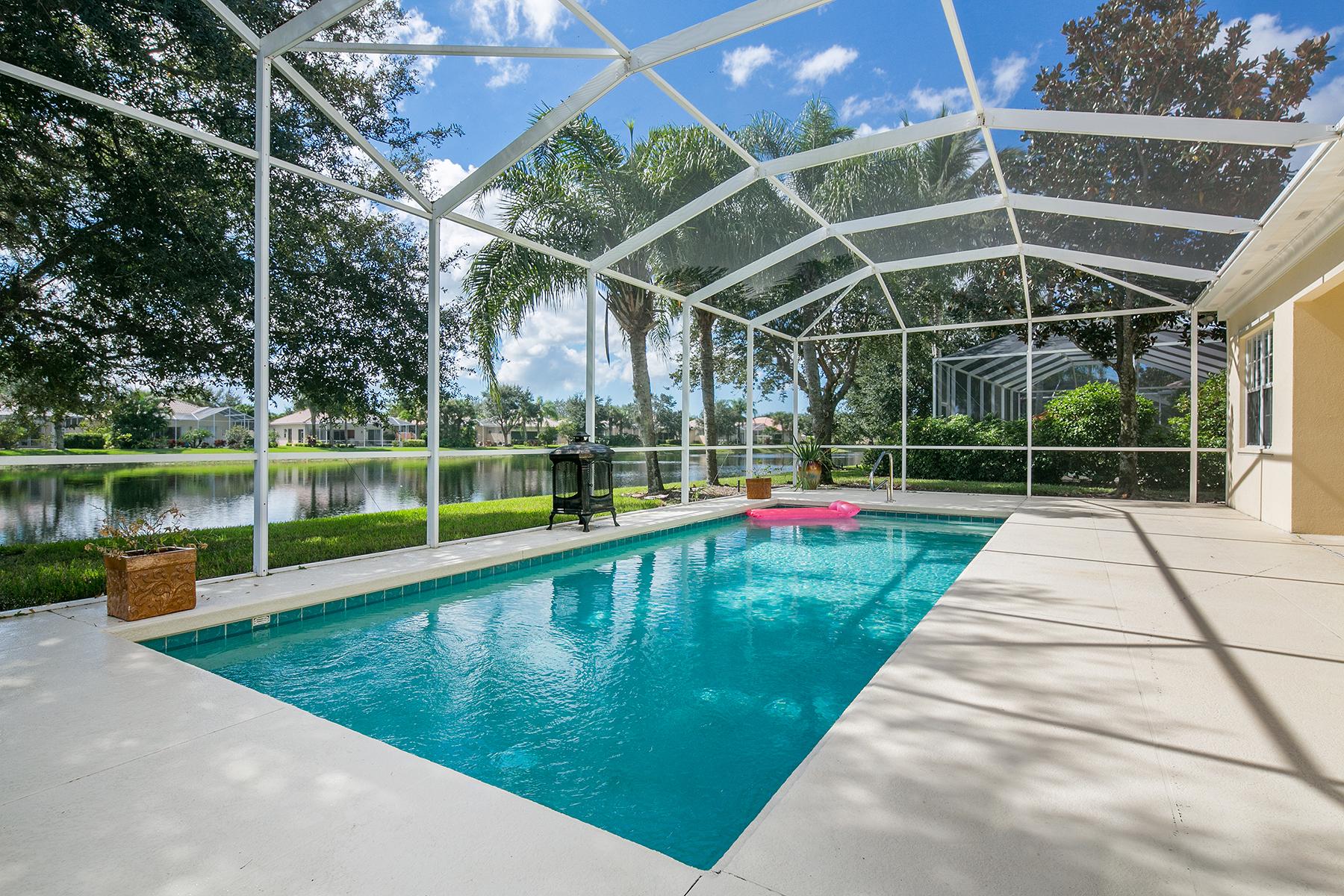 獨棟家庭住宅 為 出售 在 ISLAND WALK 3964 Upolo Ln Naples, 佛羅里達州 34119 美國