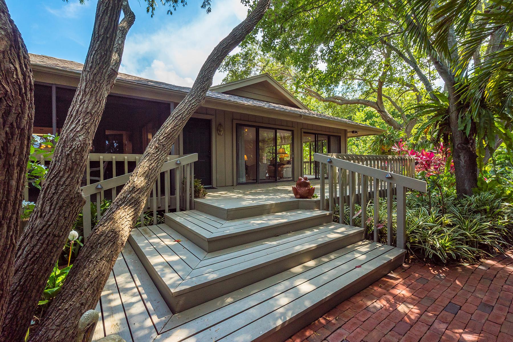 独户住宅 为 销售 在 SOUTH SARASOTA 1655 Quail Dr 萨拉索塔, 佛罗里达州, 34231 美国