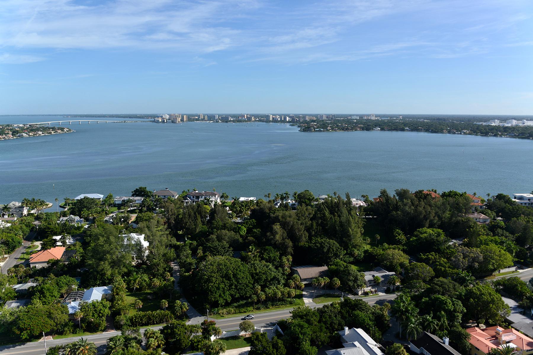 토지 용 매매 에 BAY ISLAND 3485 Seagrape Dr 220 Sarasota, 플로리다 34242 미국