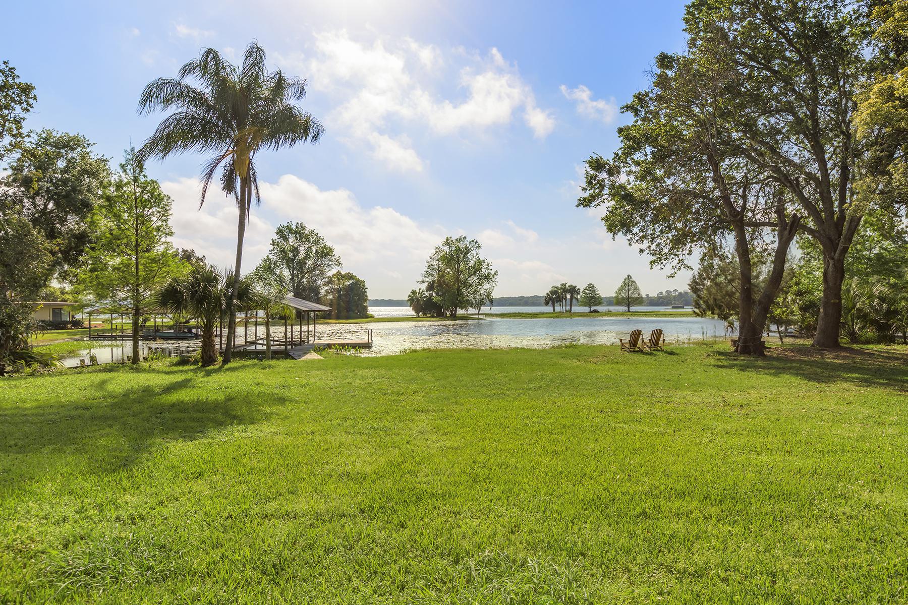 獨棟家庭住宅 為 出售 在 ORLANDO - MOUNT DORA 4931 Dora Dr Mount Dora, 佛羅里達州, 32757 美國