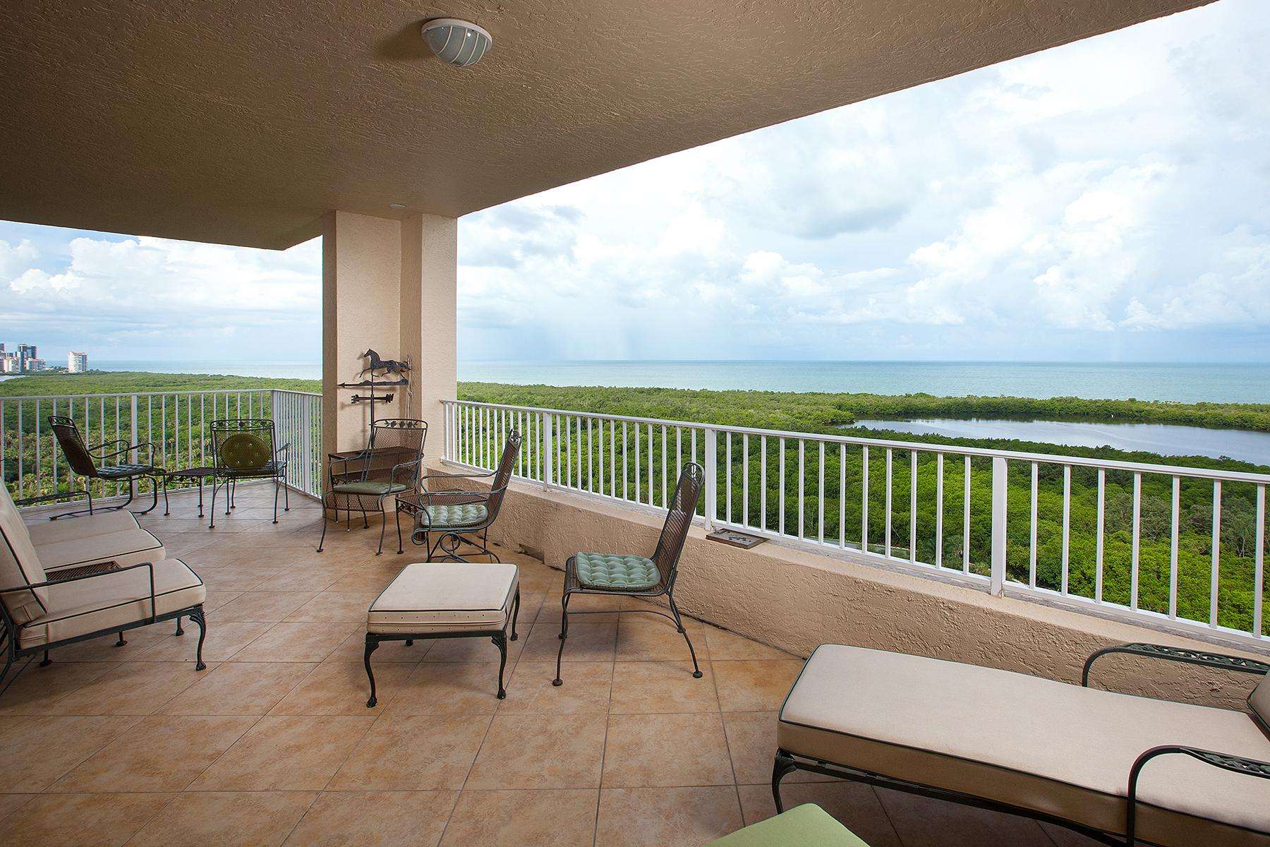 共管式独立产权公寓 为 销售 在 PELICAN BAY - CAP FERRAT 6597 Nicholas Blvd 1603 Naples, 佛罗里达州 34108 美国