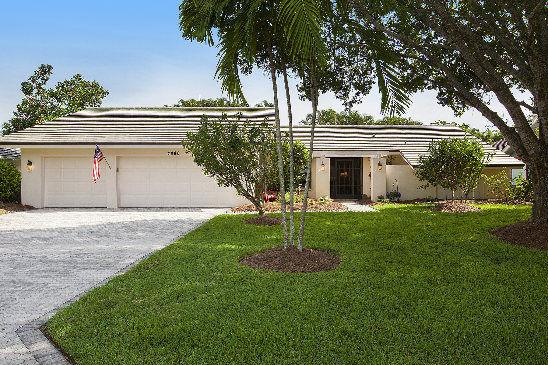Single Family Home for Sale at Naples 4880 Whispering Pine Way Naples, Florida, 34103 United States