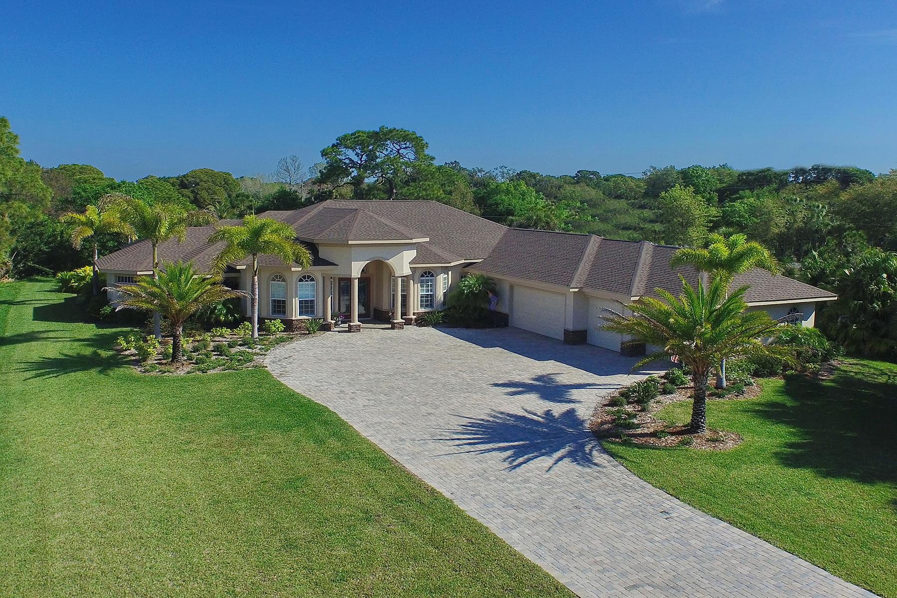 Casa para uma família para Venda às PRESERVE AT MISSION VALLEY 793 Vanderbilt Dr Nokomis, Florida 34275 Estados Unidos