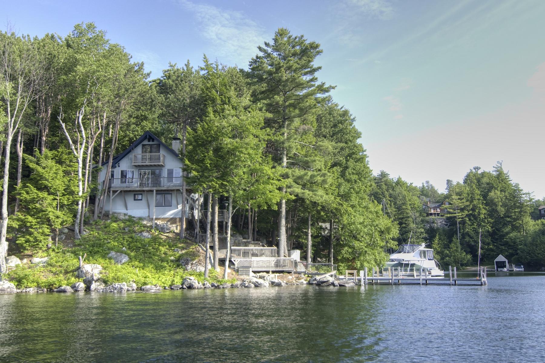 Single Family Home for Sale at 14 Mill Cove Road, Alton 14 Mill Cove Rd Alton, New Hampshire 03809 United States