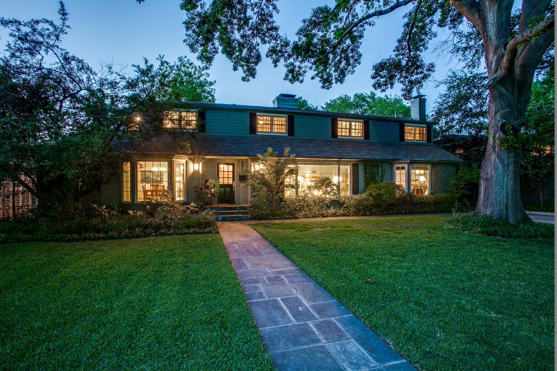 sales property at Greenway Parks Traditional on a Magnificently Treed Lush Lot