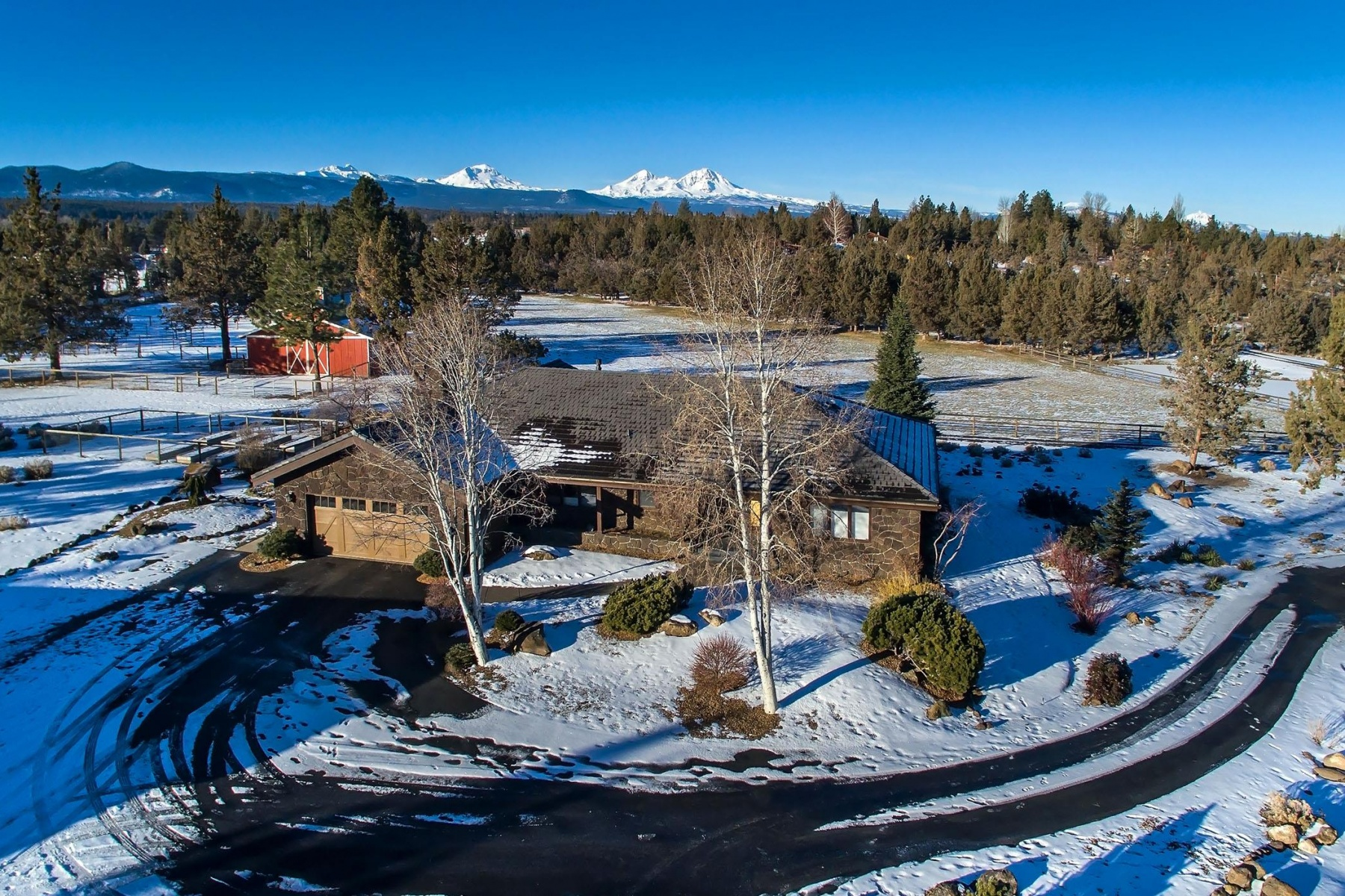 Property For Sale at Tumalo Home on Irrigated Acreage