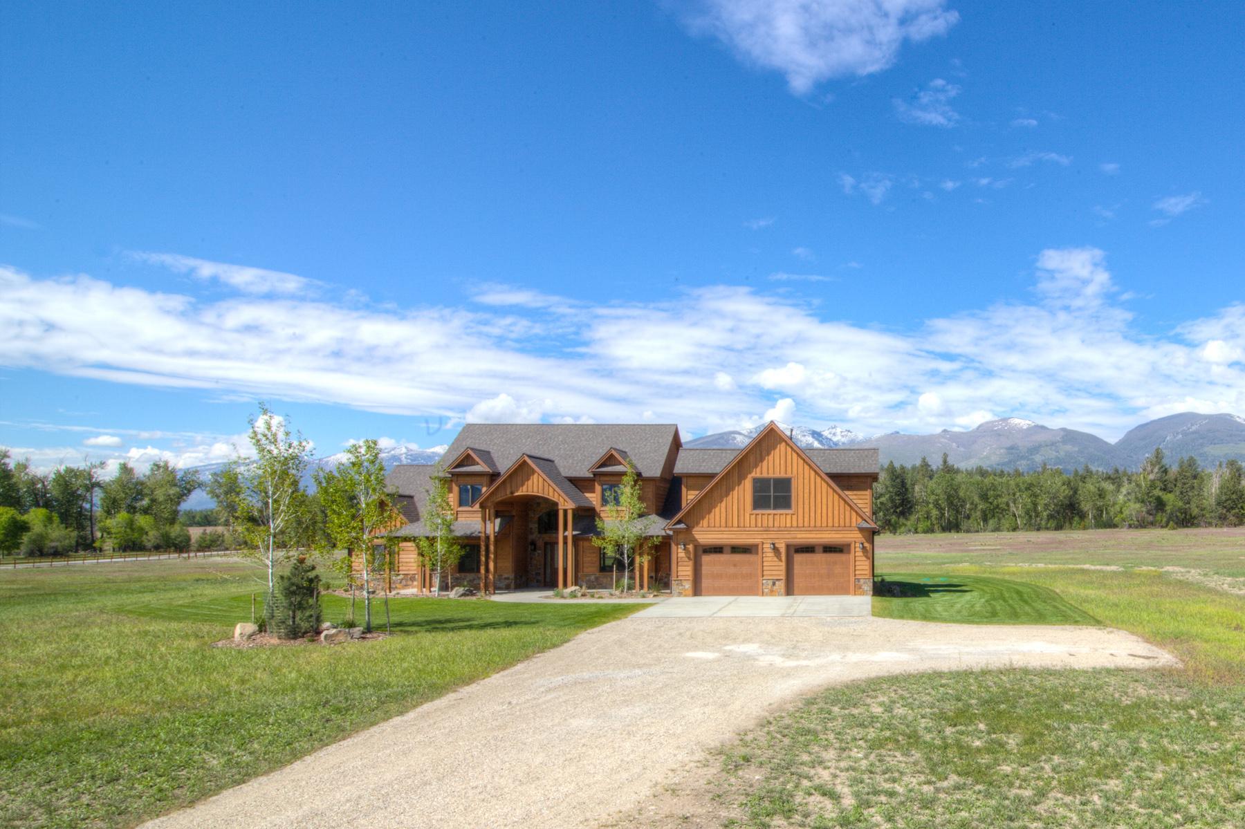 Casa Unifamiliar por un Venta en Burr Creek Ranch 326 Hillside Ranch Rd Victor, Montana, 59875 Estados Unidos