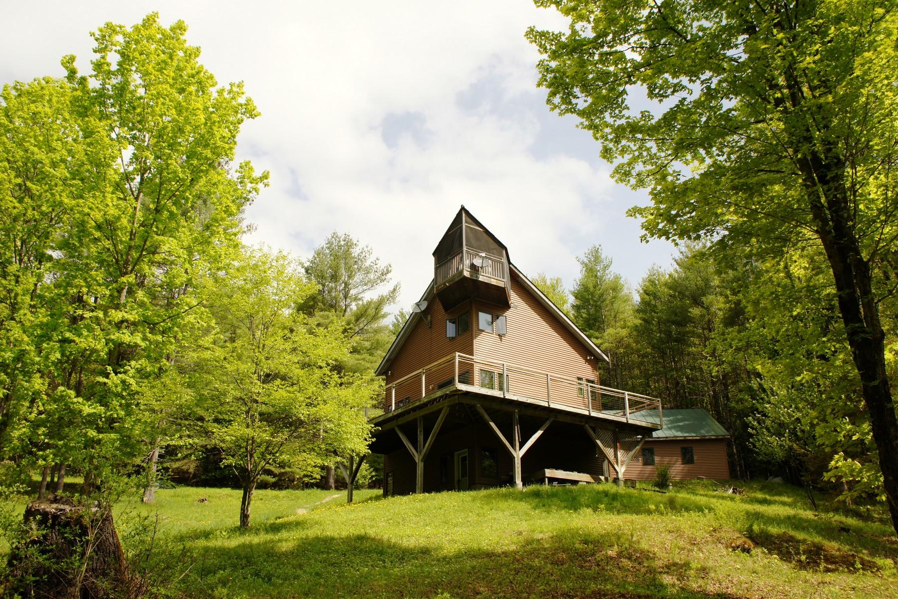 Maison unifamiliale pour l Vente à 412 Adamant Rd, Calais Calais, Vermont 05640 États-Unis
