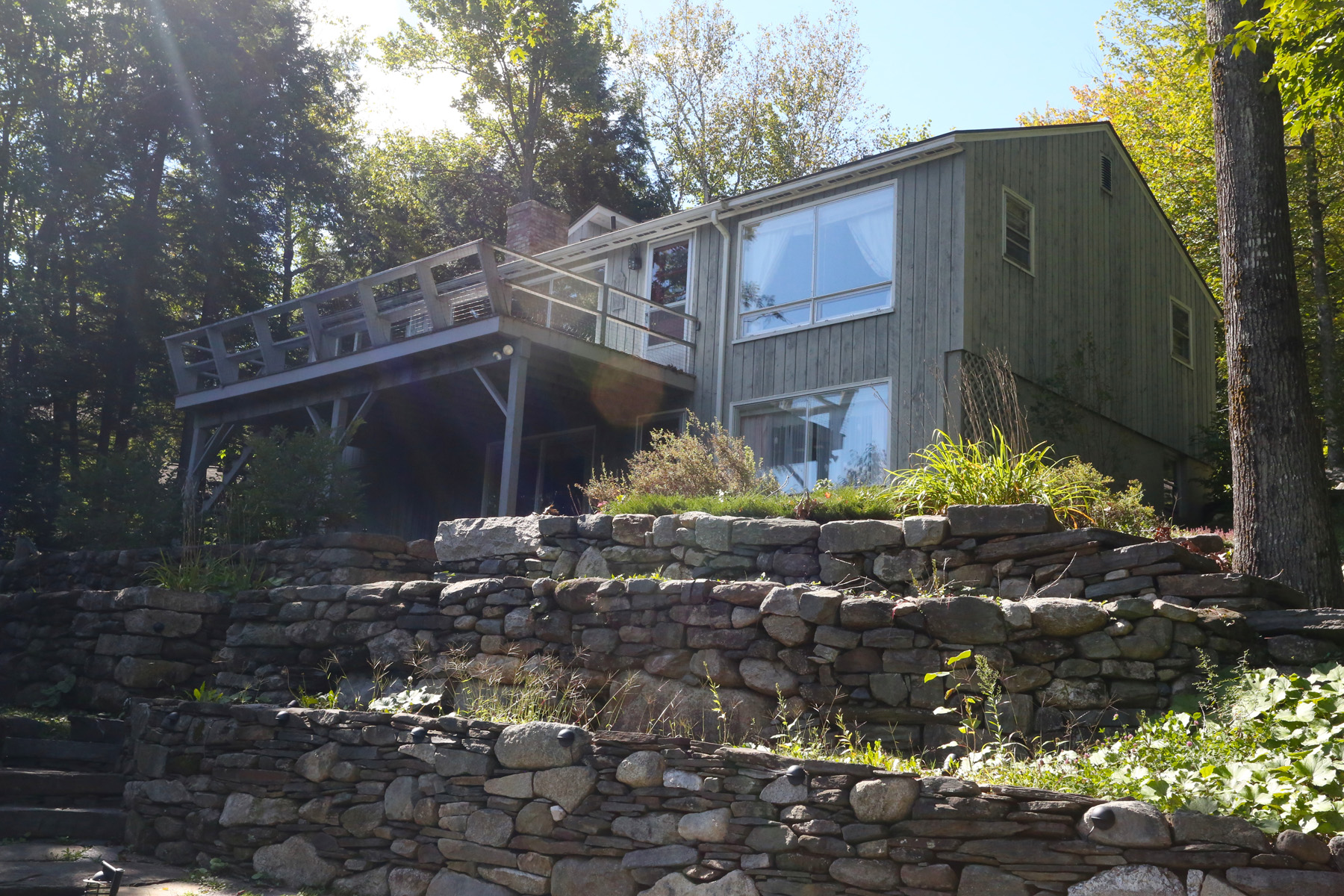 Single Family Home for Sale at 4 Bedroom Contempora 21 Westwood Rd Sunapee, New Hampshire 03782 United States