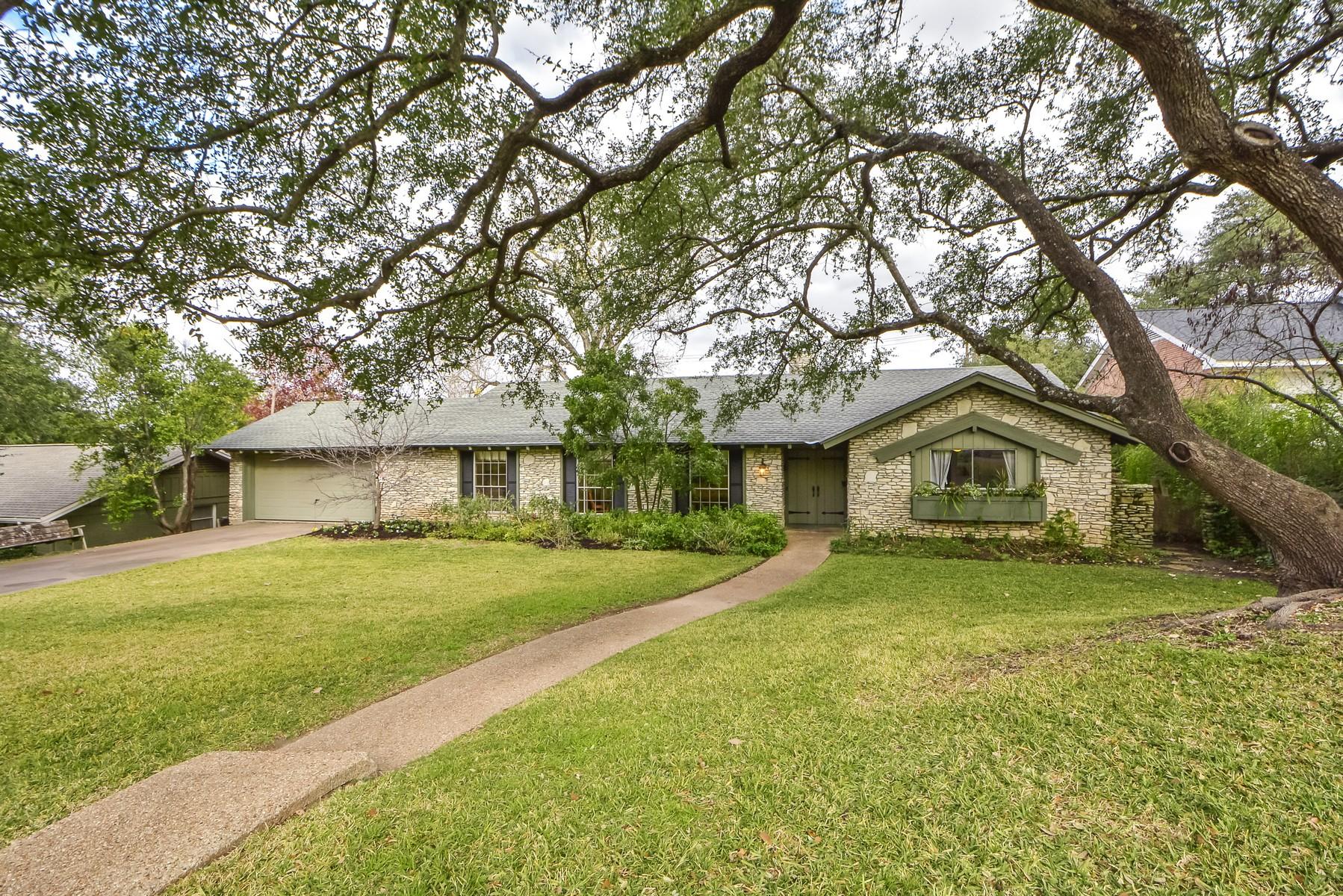 Casa Unifamiliar por un Venta en Tarrytown Ranch Style Home 3406 Taylors Dr Tarrytown, Austin, Texas 78703 Estados Unidos