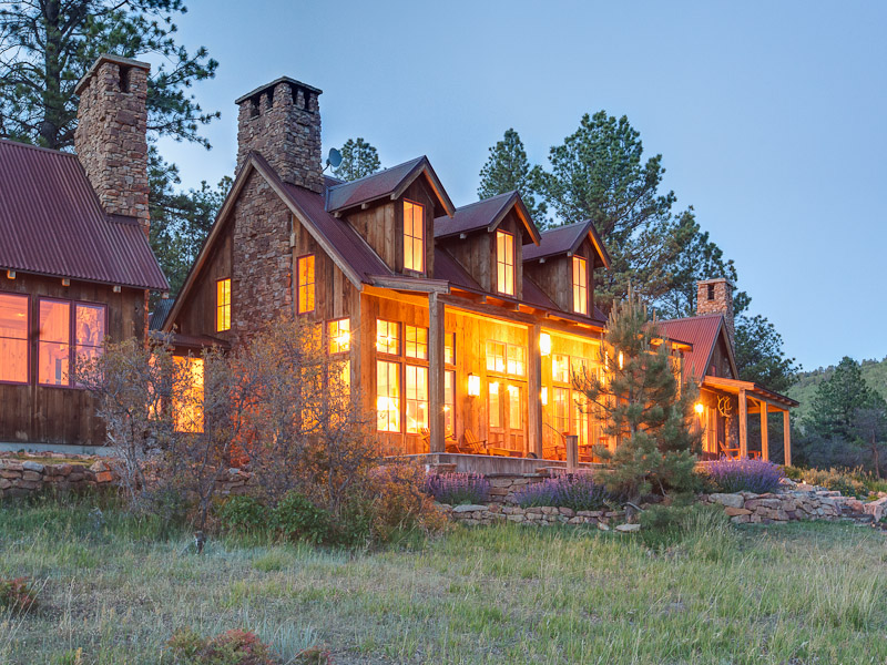 Single Family Home for Sale at Rancho Contento 484 Gutshall Road Placerville, Colorado 81430 United States