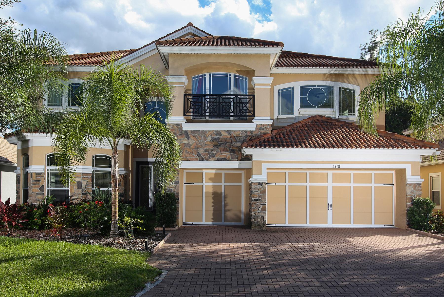 独户住宅 为 销售 在 SONOMA 5318 Napa Dr 萨拉索塔, 佛罗里达州, 34243 美国