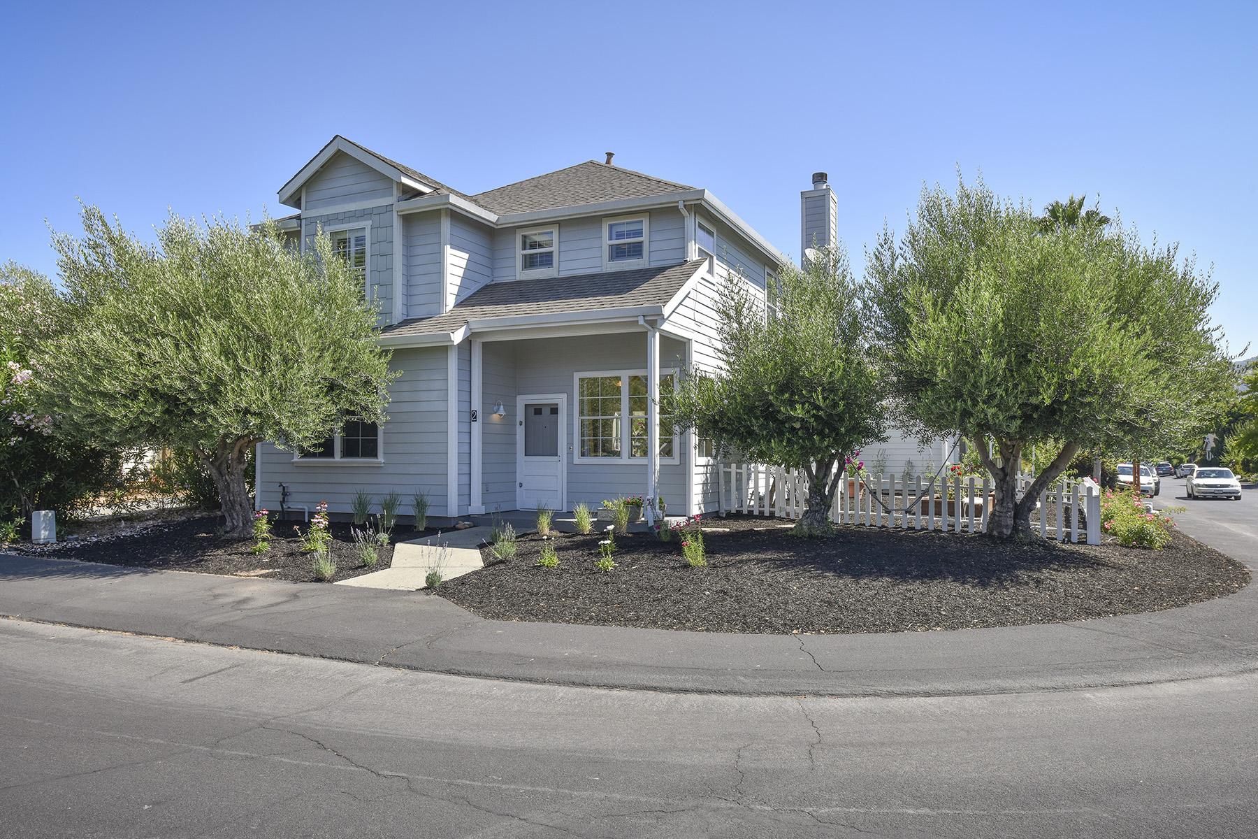 단독 가정 주택 용 매매 에 2 Foxglove Ln, Yountville, CA 94599 2 Foxglove Ln Yountville, 캘리포니아, 94599 미국