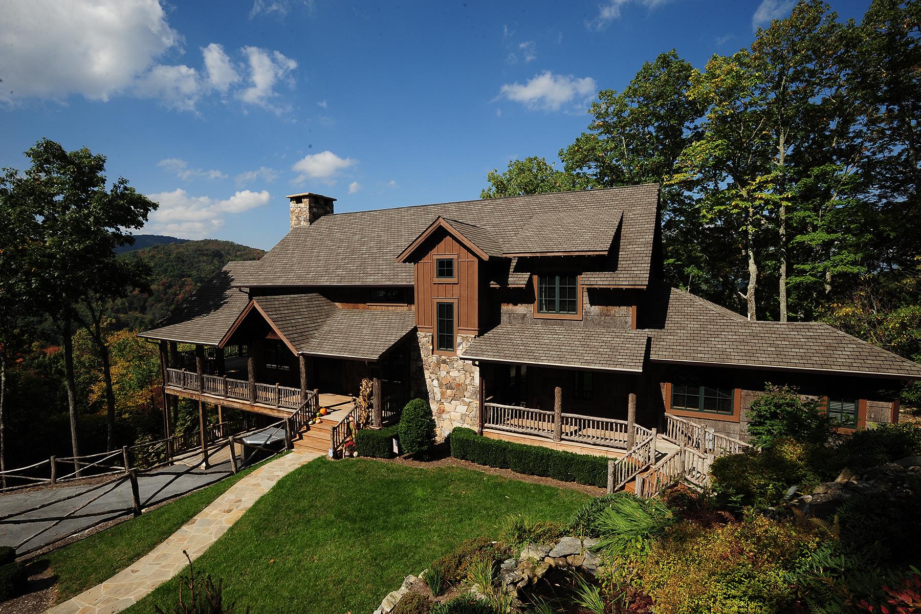 獨棟家庭住宅 為 出售 在 FOREST RIDGE 595 Autumn Path Banner Elk, 北卡羅來納州 28604 美國