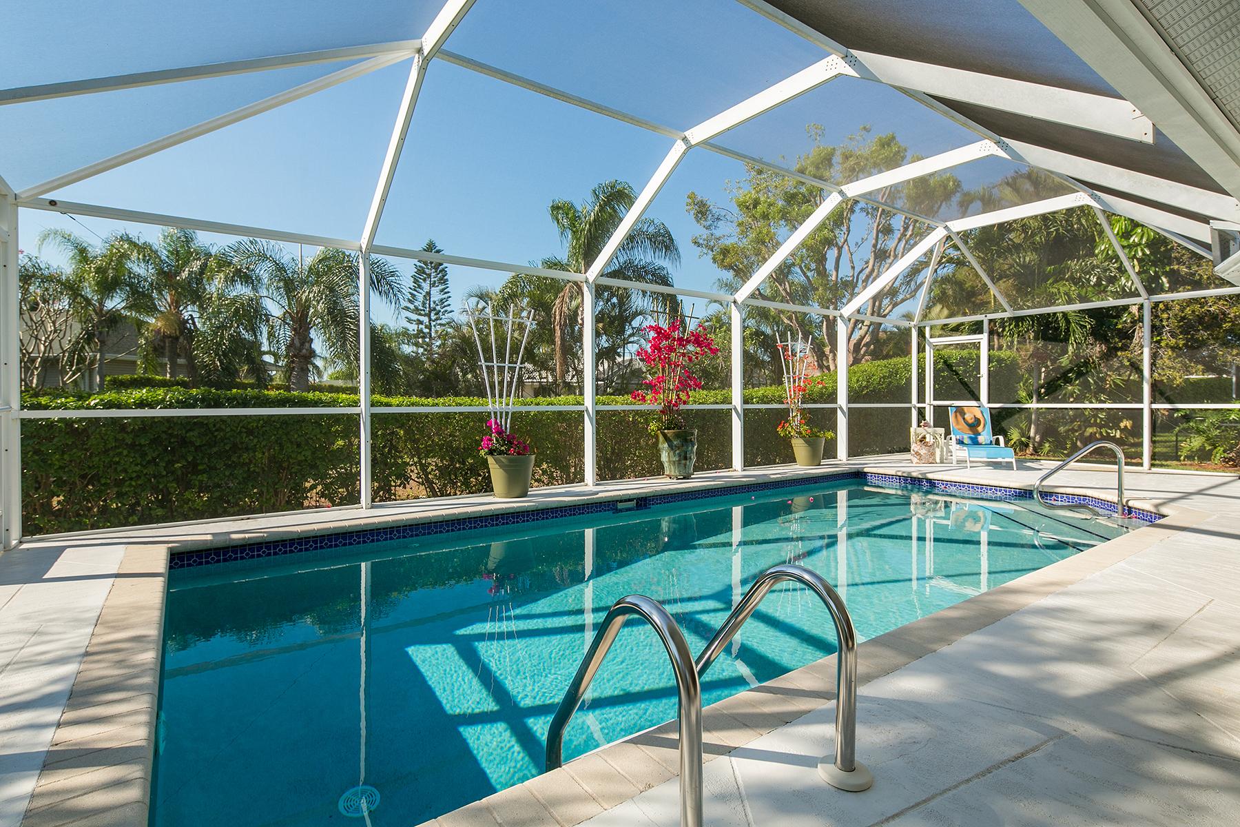 단독 가정 주택 용 매매 에 MARCO ISLAND - LELAND WAY 1505 Leland Way Marco Island, 플로리다 34145 미국