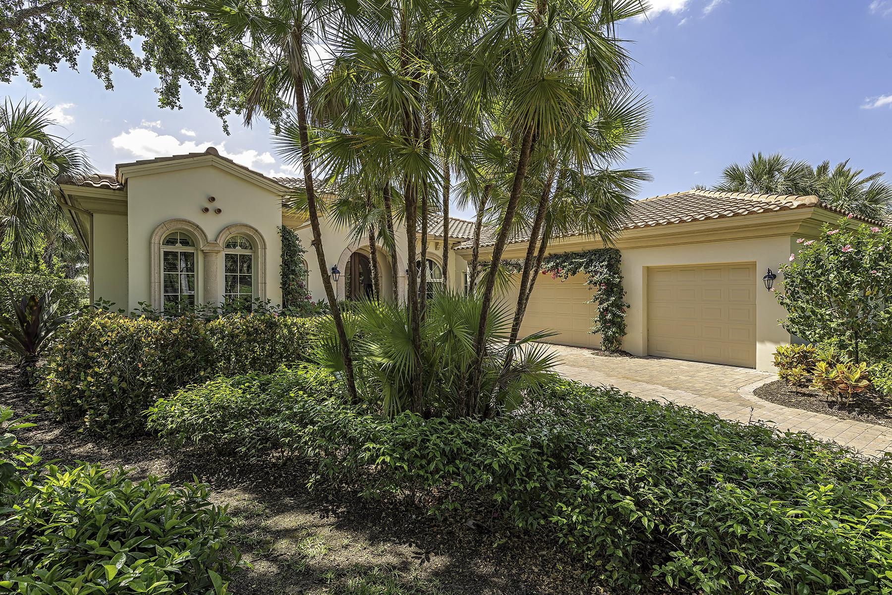 Частный односемейный дом для того Продажа на Isla Vista 2036 Isla Vista Ln Grey Oaks, Naples, Флорида, 34105 Соединенные Штаты