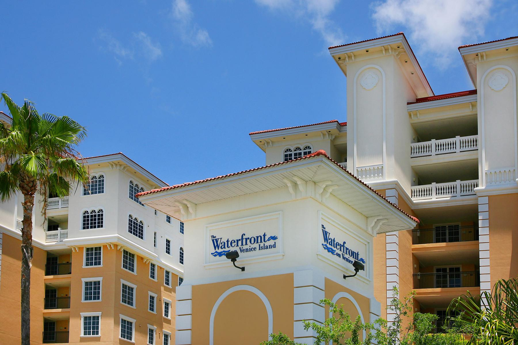 共管物業 為 出售 在 WATERFRONT ON VENICE ISLAND 157 Tampa Ave E 607 Venice, 佛羅里達州, 34285 美國