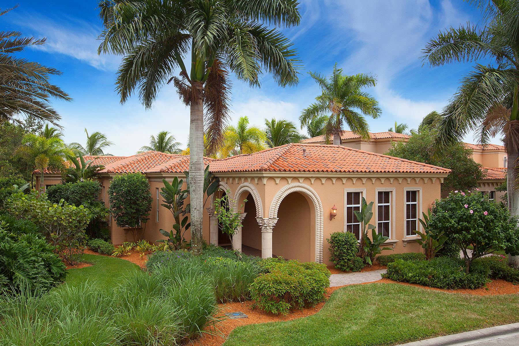 Maison unifamiliale pour l Vente à FIDDLER'S CREEK - BELLAGIO 8504 Bellagio Dr Naples, Florida 34114 États-Unis