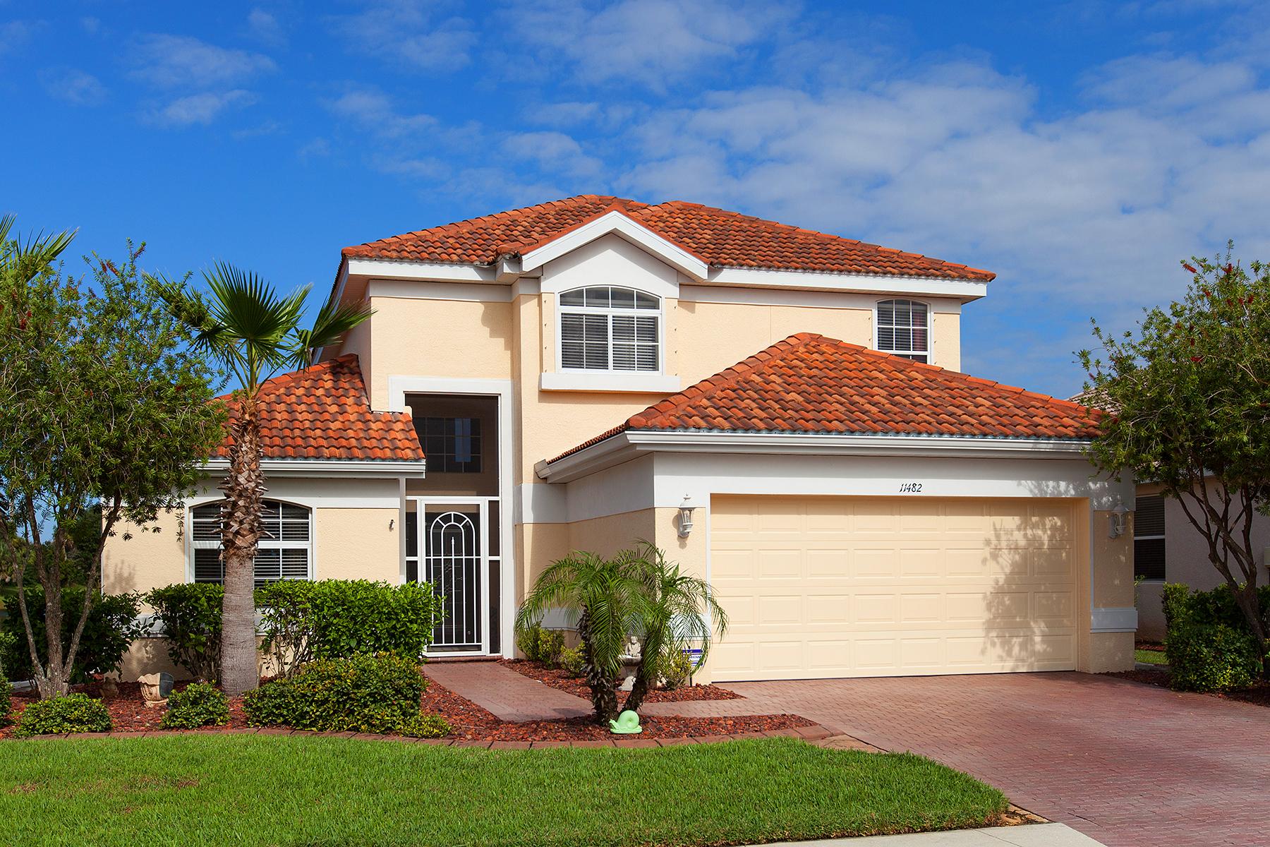 独户住宅 为 销售 在 STONEYBROOK AT VENICE 11482 Tinder Ct 威尼斯, 佛罗里达州, 34292 美国