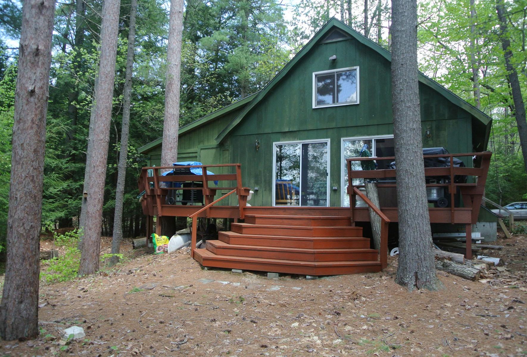 Частный односемейный дом для того Продажа на 232 Pine Pt, New Durham New Durham, Нью-Гэмпшир 03855 Соединенные Штаты