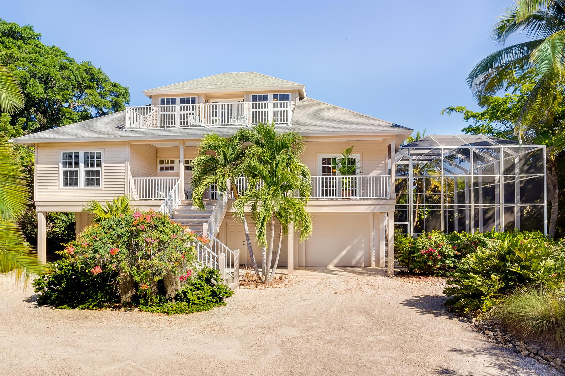 Частный односемейный дом для того Продажа на SANIBEL 3386 W Gulf Dr Sanibel, Флорида, 33957 Соединенные Штаты