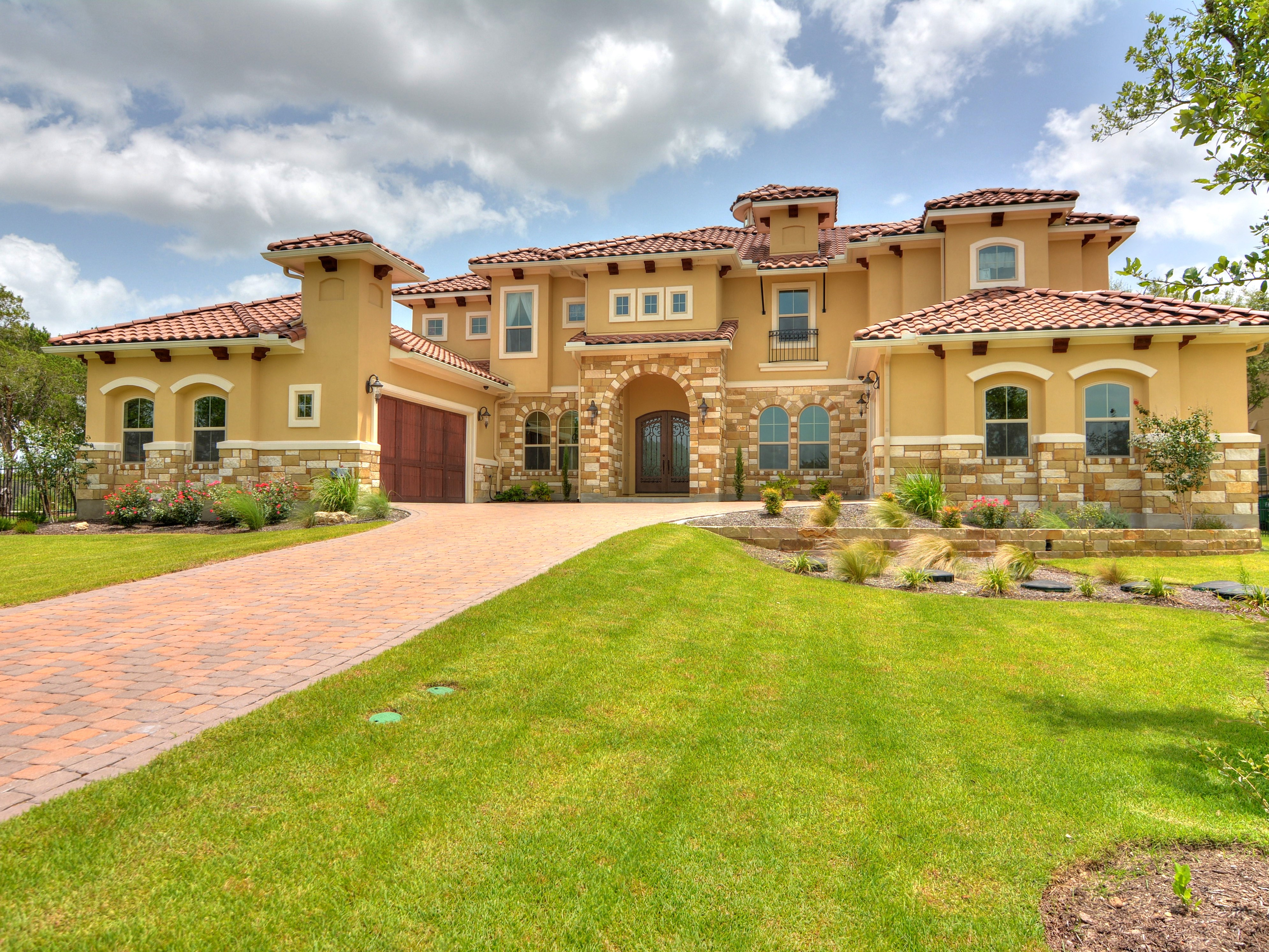 Single Family Home for Sale at Elegant Two Story with Beautiful Hill Country View 3713 Copper Ridge Ct Austin, Texas 78734 United States
