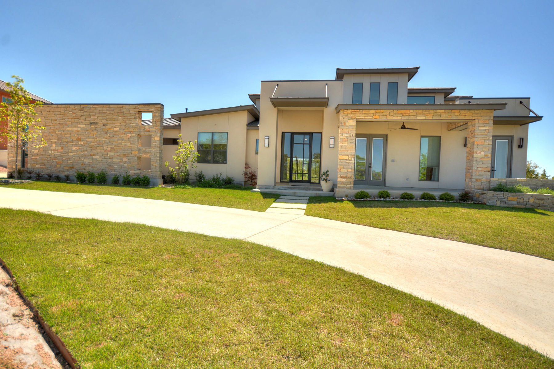 Single Family Home for Sale at Contemporary Masterpiece in Canyons at Scenic Loop 9742 Autumn Canyon San Antonio, Texas, 78255 United States