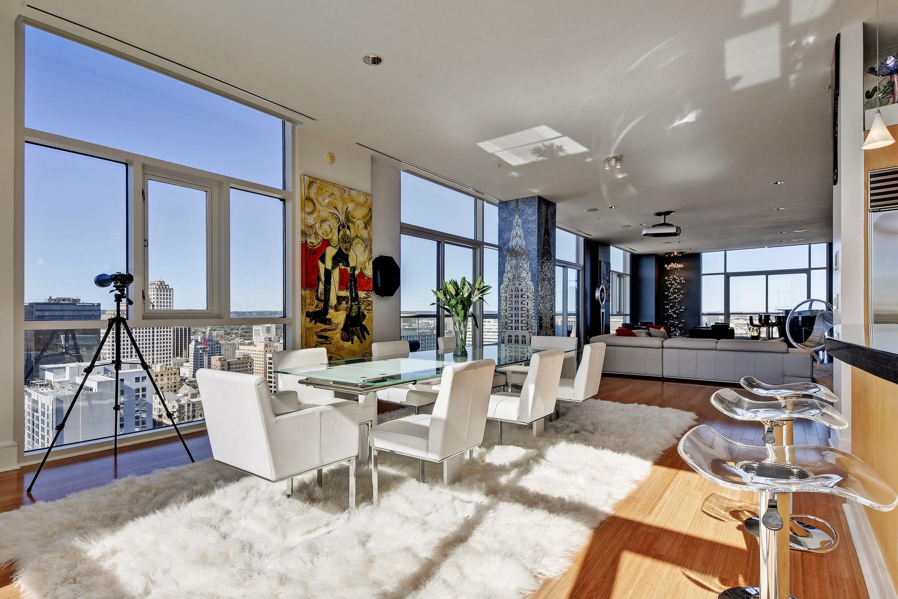 Nhà chung cư vì Bán tại SPECTACULAR VIEWS, PENTHOUSE FEEL. 555 E 5th St 2912 Austin, Texas 78701 Hoa Kỳ