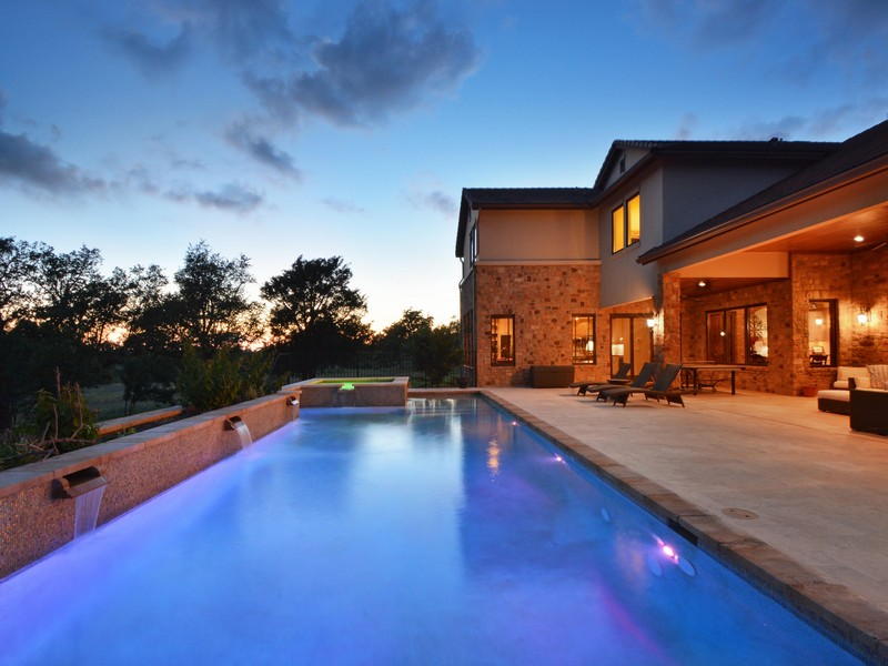 Single Family Home for Sale at Tuscan Home in Belvedere 8041 Carlton Ridge Cv Austin, Texas 78738 United States