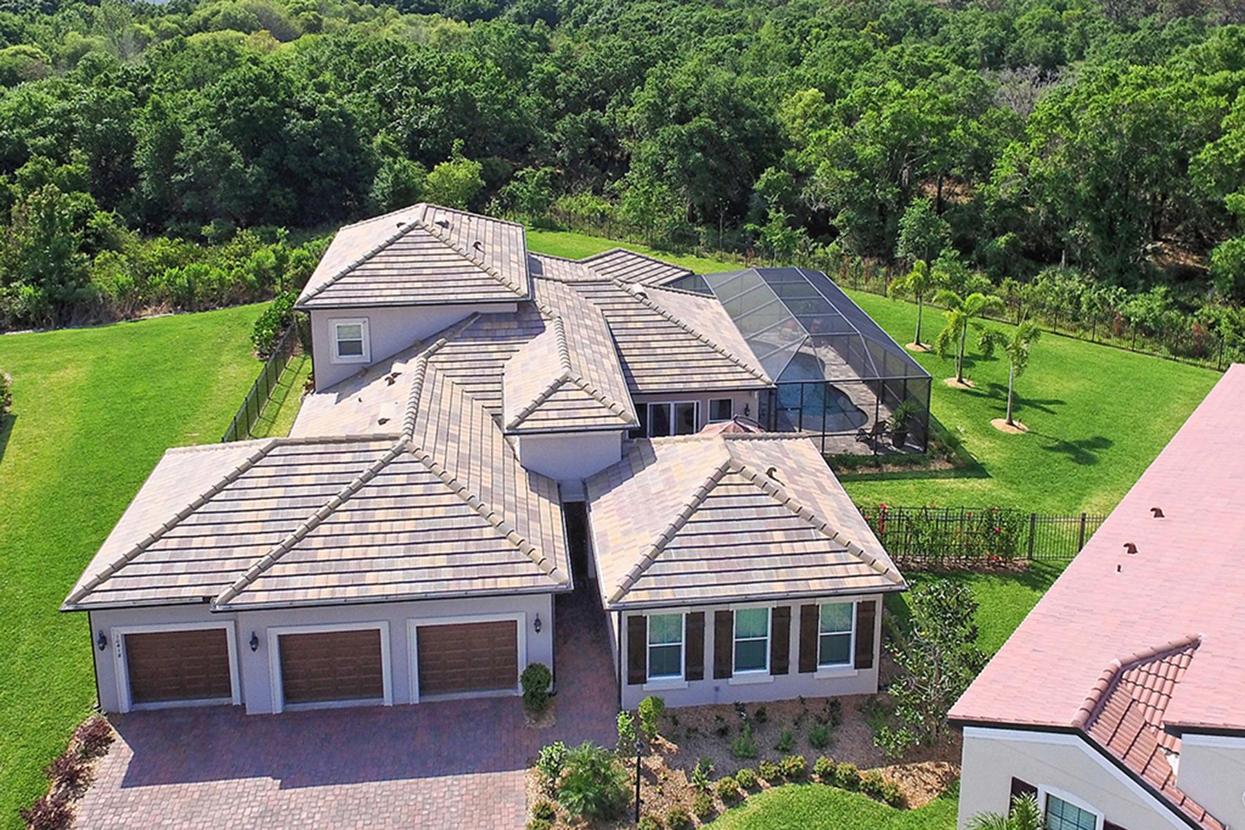 Casa para uma família para Venda às ROSEDALE 10418 Eastwood Dr Bradenton, Florida, 34211 Estados Unidos