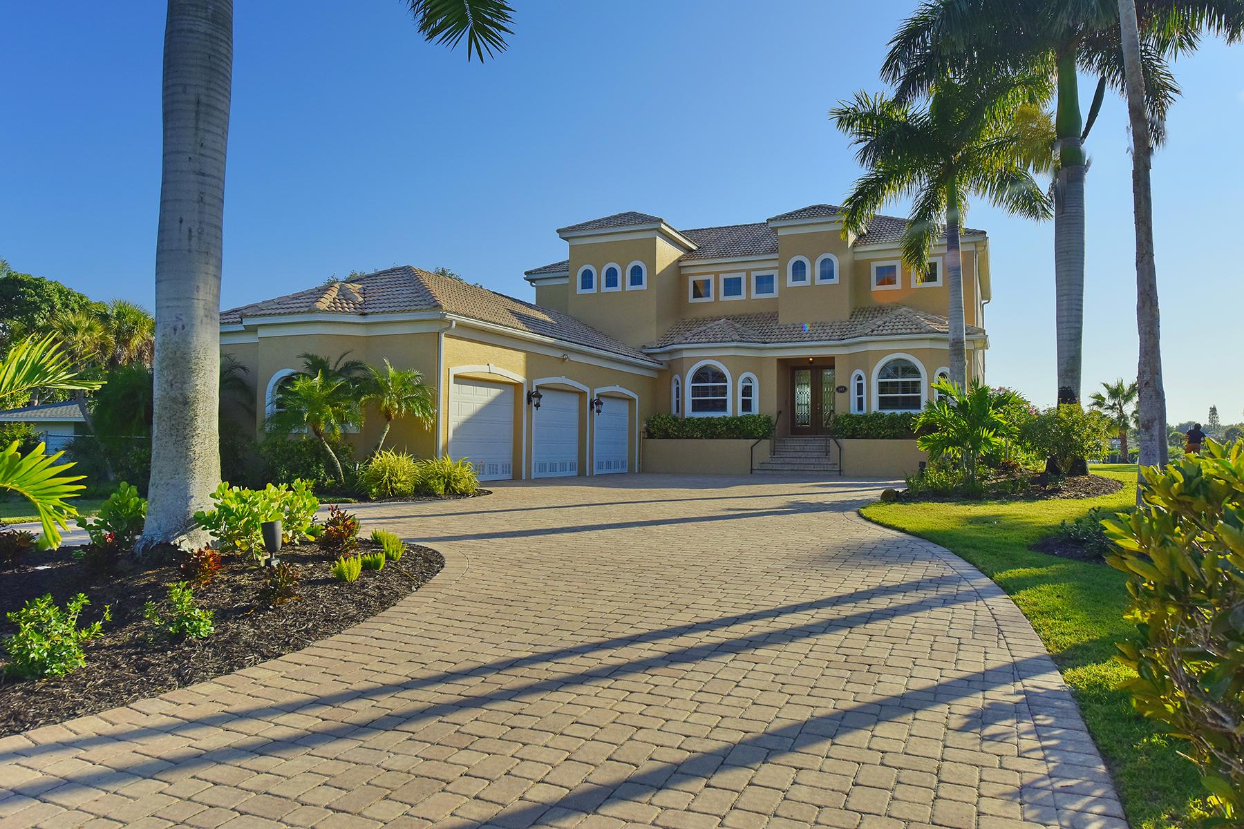 단독 가정 주택 용 매매 에 TOWNS-END SHORES 145 Shoreland Dr Osprey, 플로리다, 34229 미국