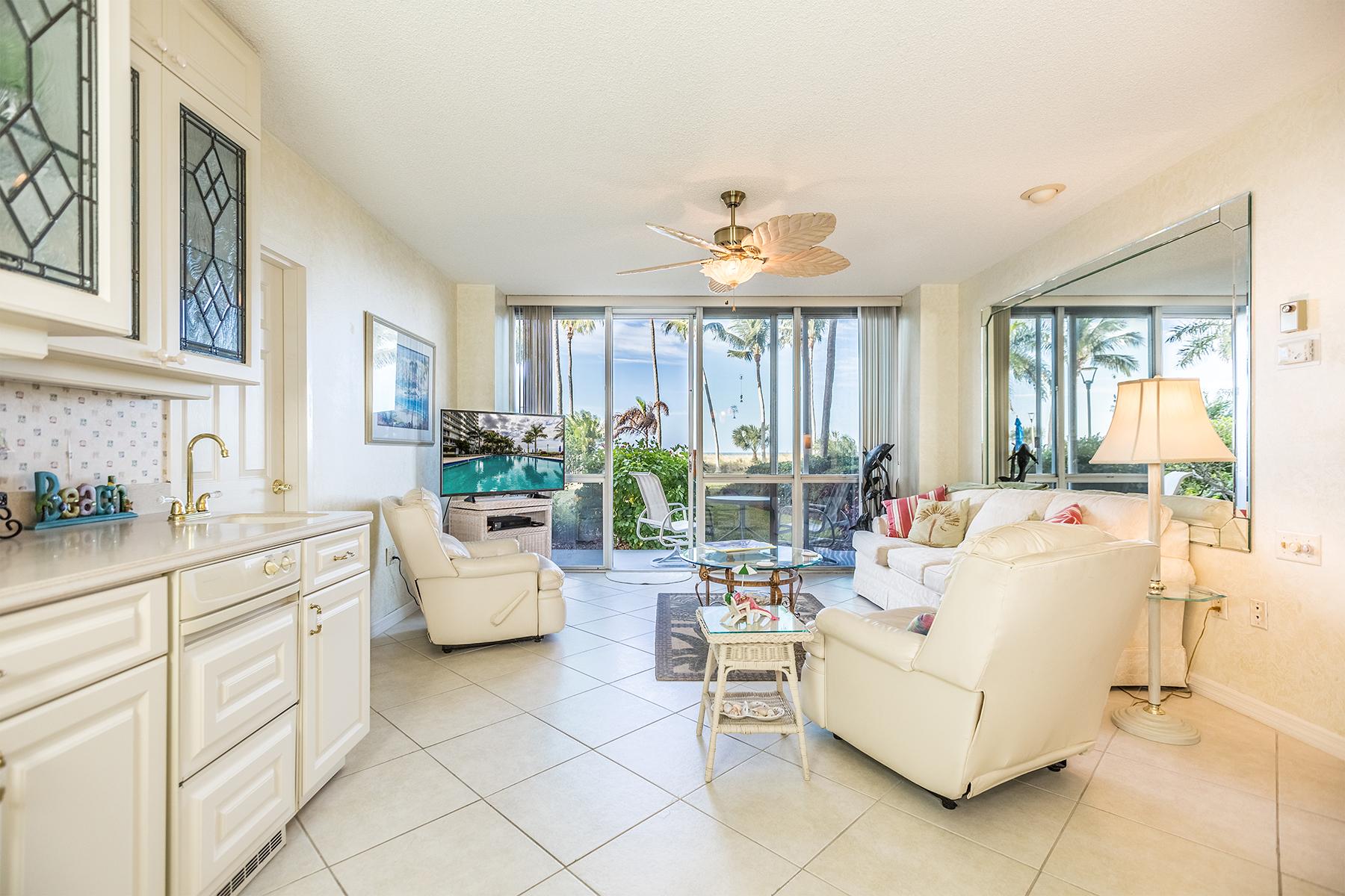 Кондоминиум для того Продажа на MARCO ISLAND - ADMIRALTY HOUSE 140 Seaview Ct N-103 Marco Island, Флорида, 34145 Соединенные Штаты