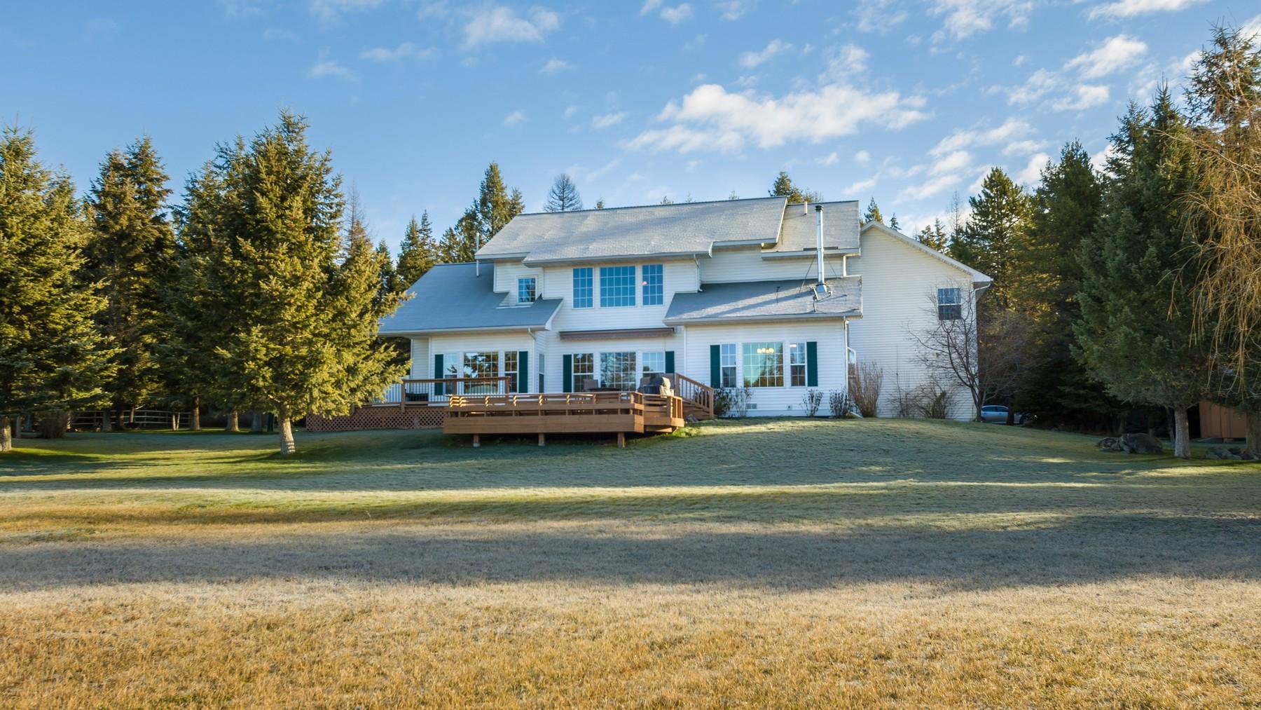 一戸建て のために 売買 アット 186 E Blanchard Lake Rd , Whitefish, MT 59937 Whitefish, モンタナ, 59937 アメリカ合衆国
