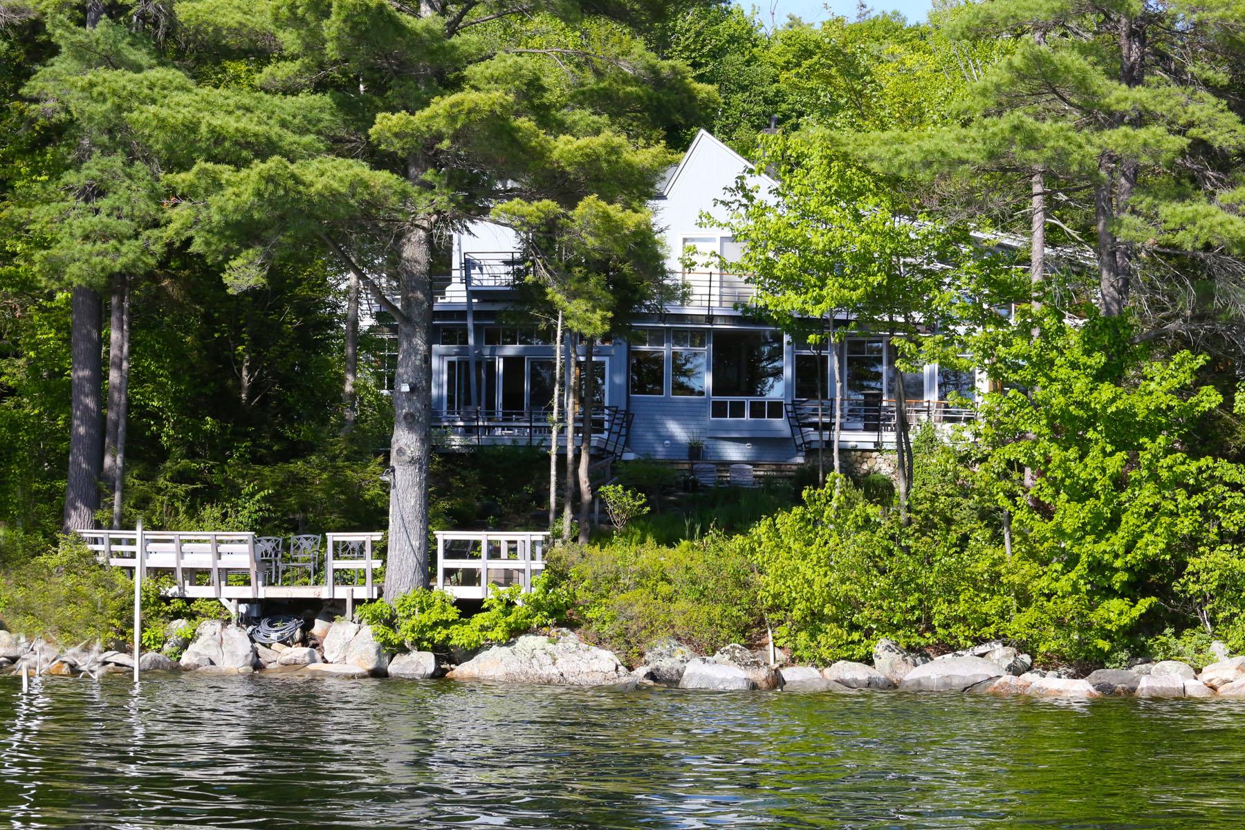 一戸建て のために 売買 アット Waypointe on Lake Sunapee 119 Grace Hill Rd Newbury, ニューハンプシャー 03255 アメリカ合衆国