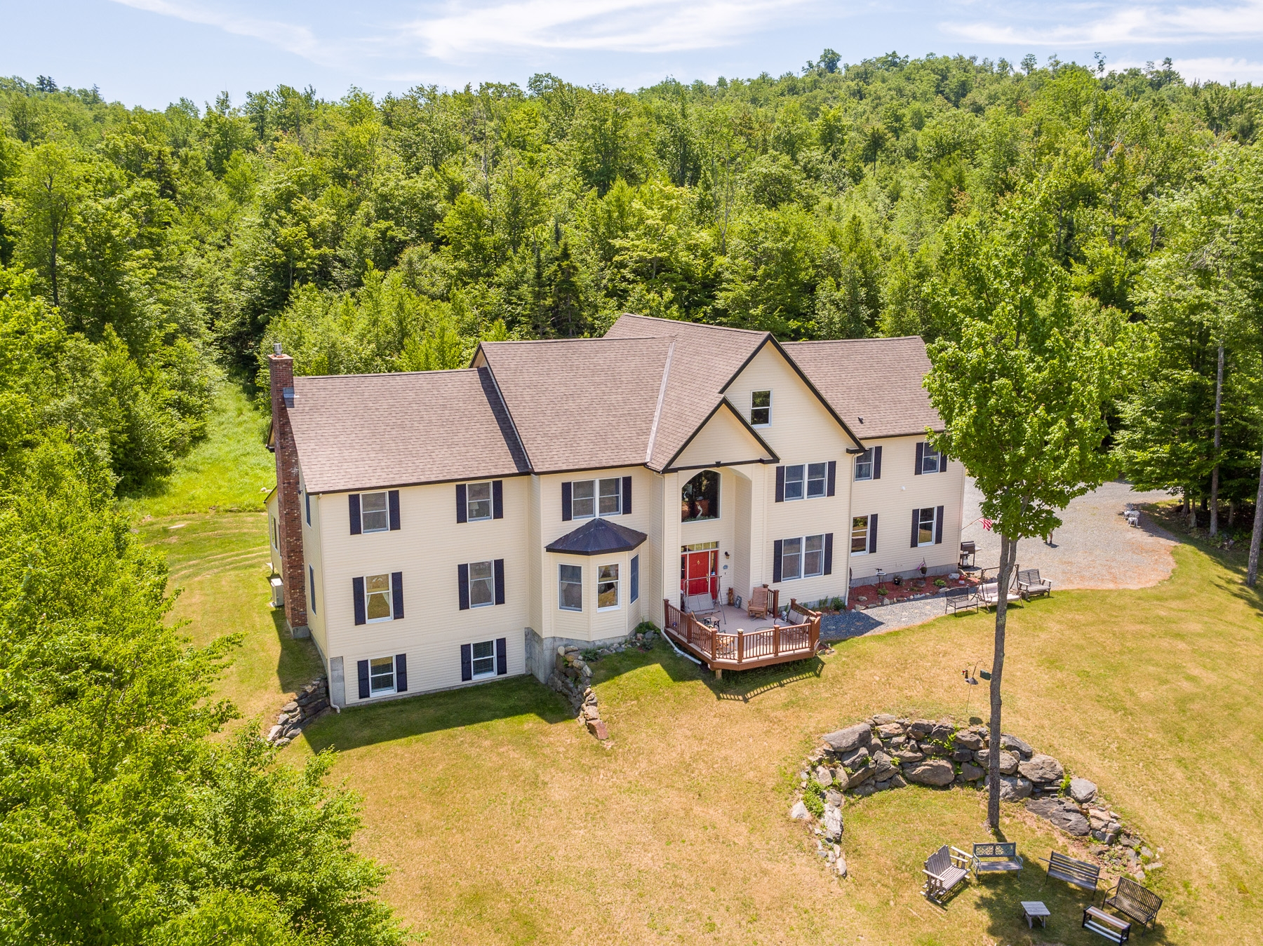 Single Family Home for Sale at 703 Miller Pond Road, Grantham 703 Miller Pond Rd Grantham, New Hampshire, 03753 United States
