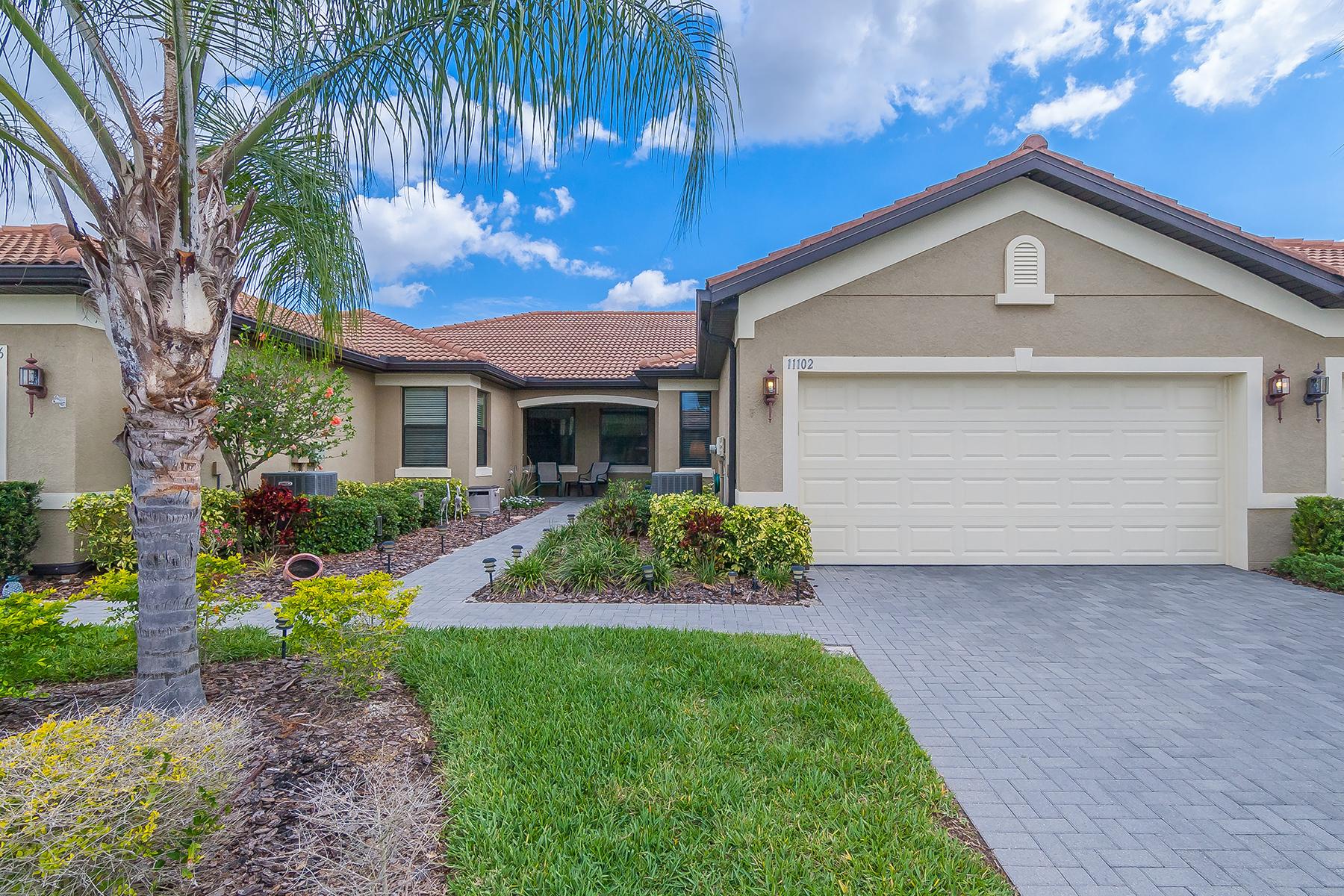 Stadthaus für Verkauf beim VENETIAN FALLS 11102 Campazzo Dr Venice, Florida, 34292 Vereinigte Staaten