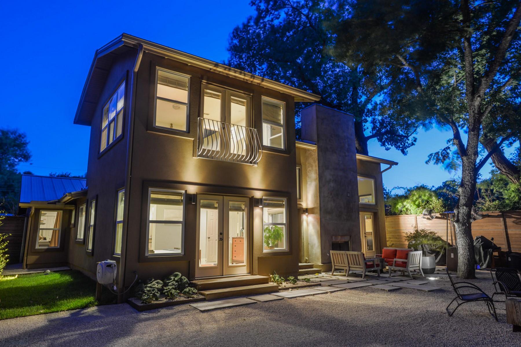 Nhà ở một gia đình vì Bán tại Contemporary Design Home in Zilker Park 1820 Spillman St Austin, Texas 78704 Hoa Kỳ