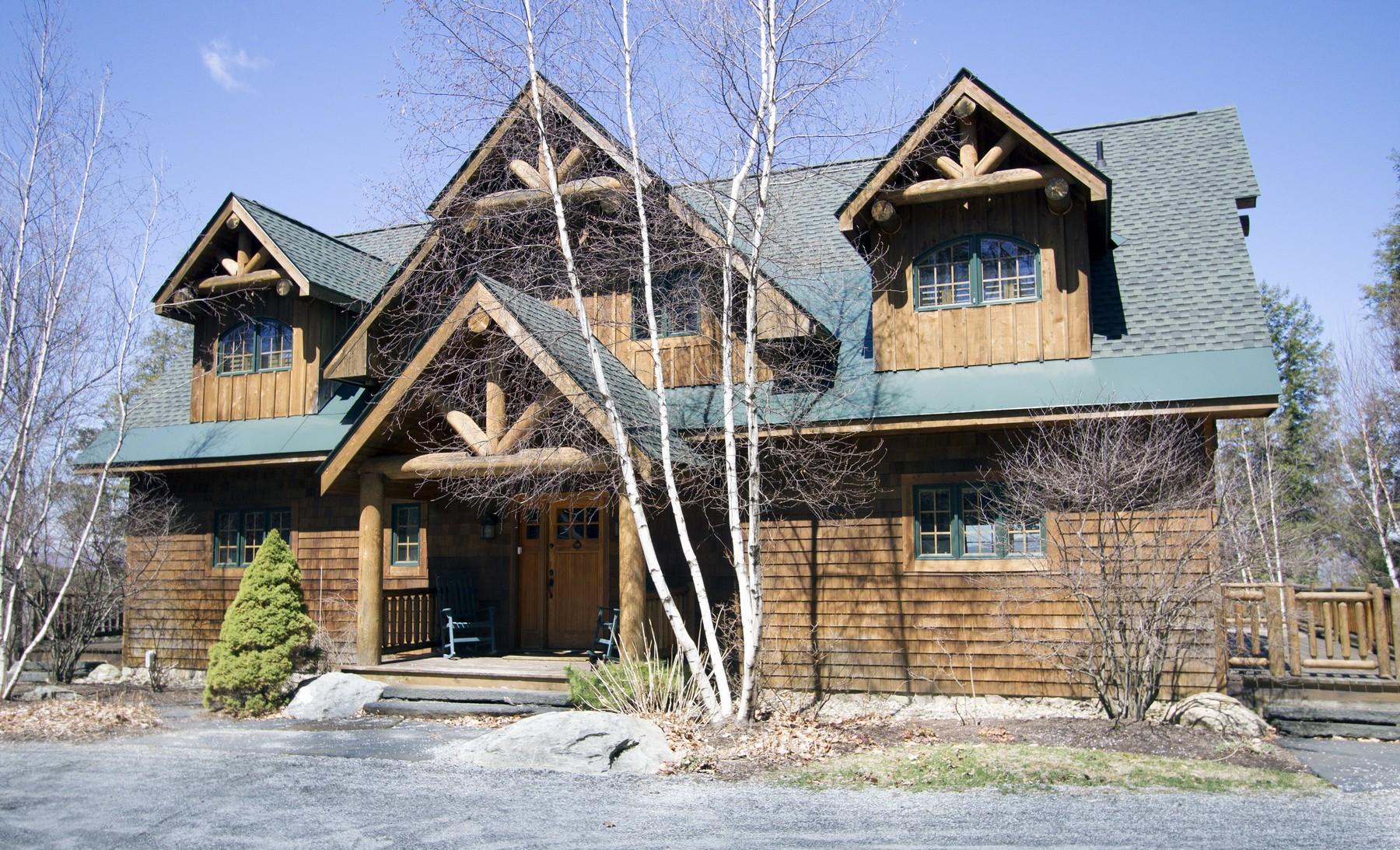 Maison unifamiliale pour l Vente à 10 Carol, Winhall 10 Carol Cir Winhall, Vermont, 05340 États-Unis