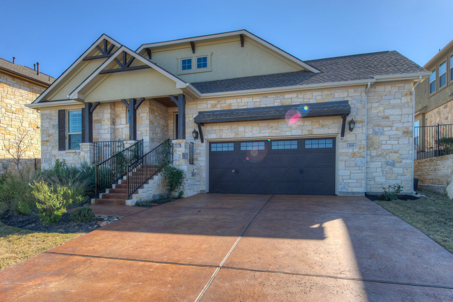 Single Family Home for Sale at Newly Built Rough Hollow Home 108 Wester Ross Ln Lakeway, Texas, 78738 United States