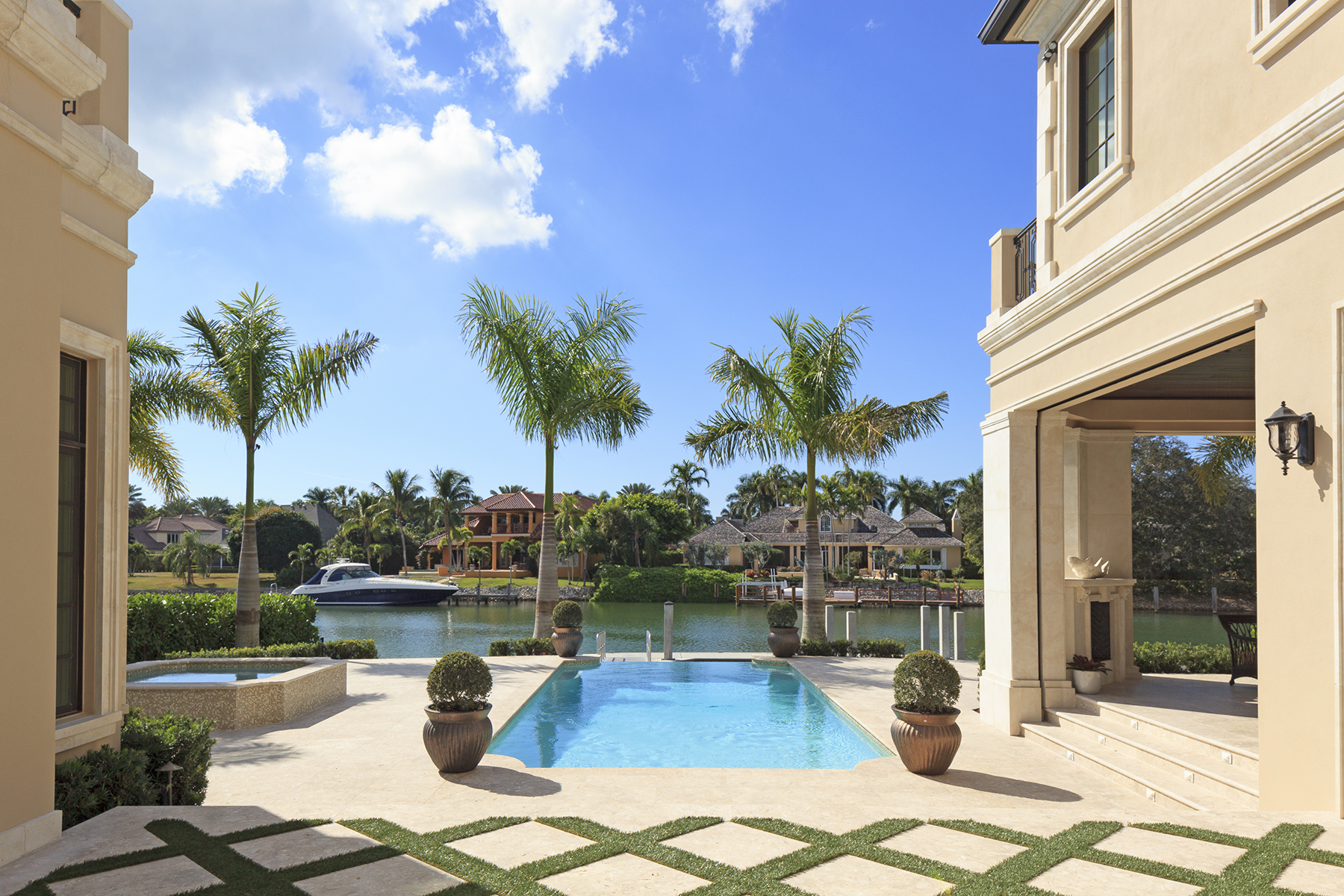 Single Family Home for Sale at PORT ROYAL 3250 Gin Ln Naples, Florida 34102 United States