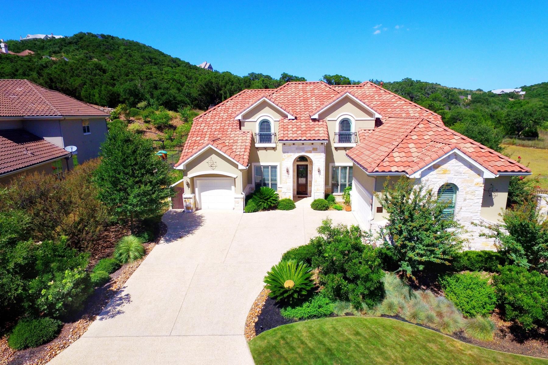 Vivienda unifamiliar por un Venta en Pristine Mediterranean Estate in The Dominion 24827 Ellesmere San Antonio, Texas 78257 Estados Unidos