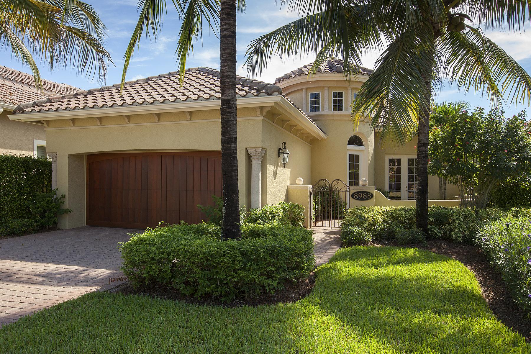 Частный односемейный дом для того Продажа на CRANBERRY CROSSING 8988 Cherry Oaks Trl Naples, Флорида, 34114 Соединенные Штаты