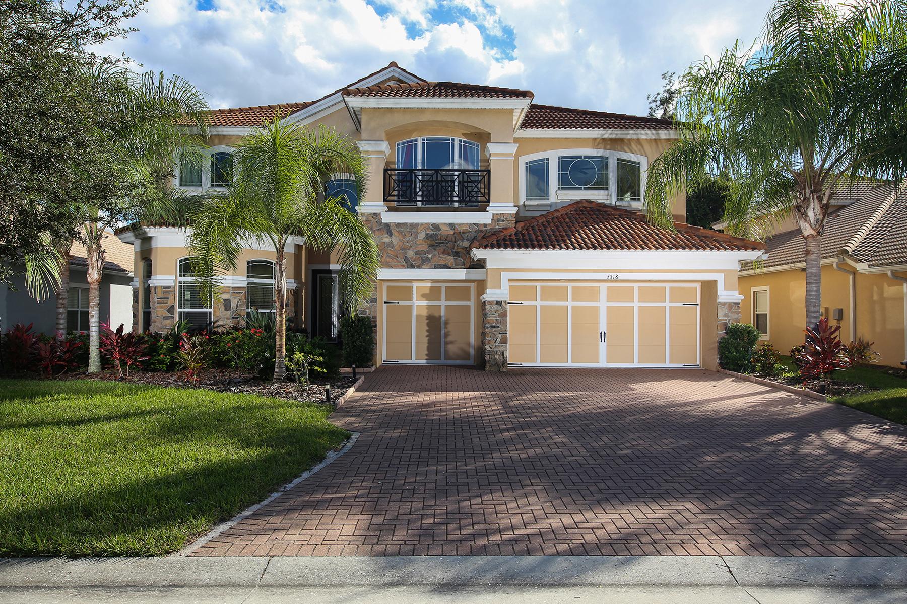Single Family Home for Sale at SONOMA 5318 Napa Dr Sarasota, Florida, 34243 United States