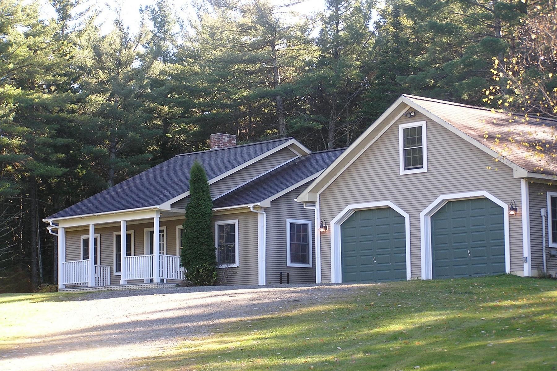 Casa Unifamiliar por un Venta en 3371 Craftsbury Road, Greensboro 3371 Craftsbury Rd Greensboro, Vermont, 05841 Estados Unidos