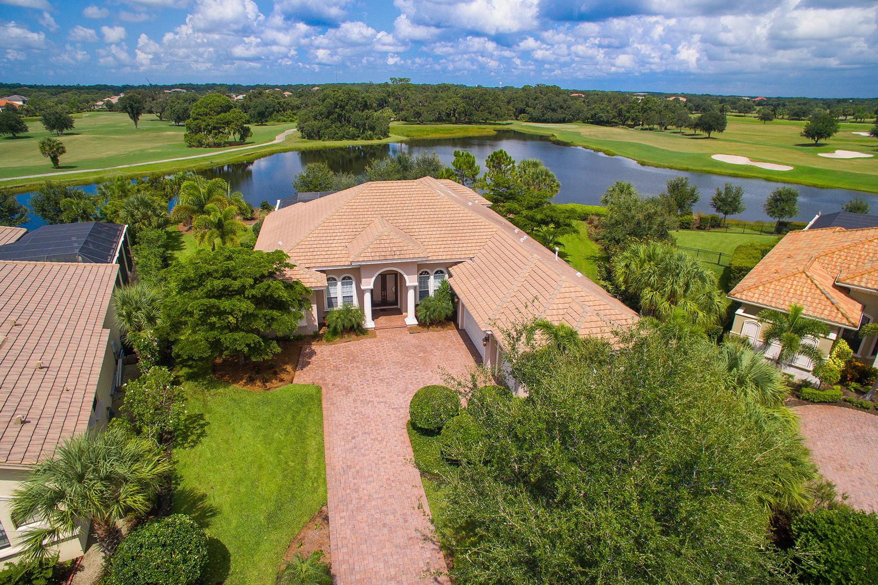 独户住宅 为 销售 在 FOUNDERS CLUB 9206 Mcdaniel Ln 萨拉索塔, 佛罗里达州 34240 美国