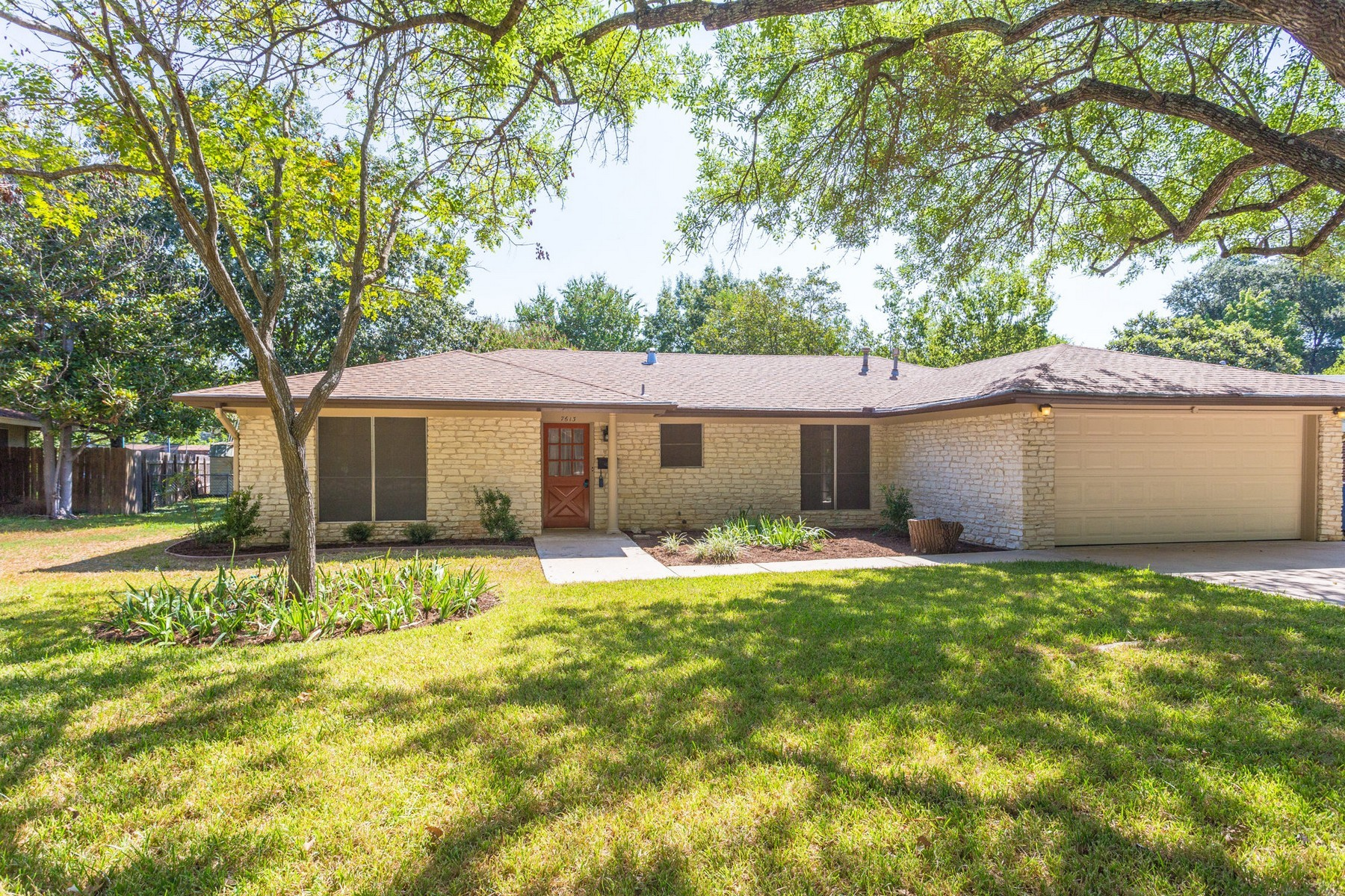 Single Family Home for Sale at Mid-Century Ranch Home in North Central Austin 7613 Shoal Creek Blvd Austin, Texas 78757 United States