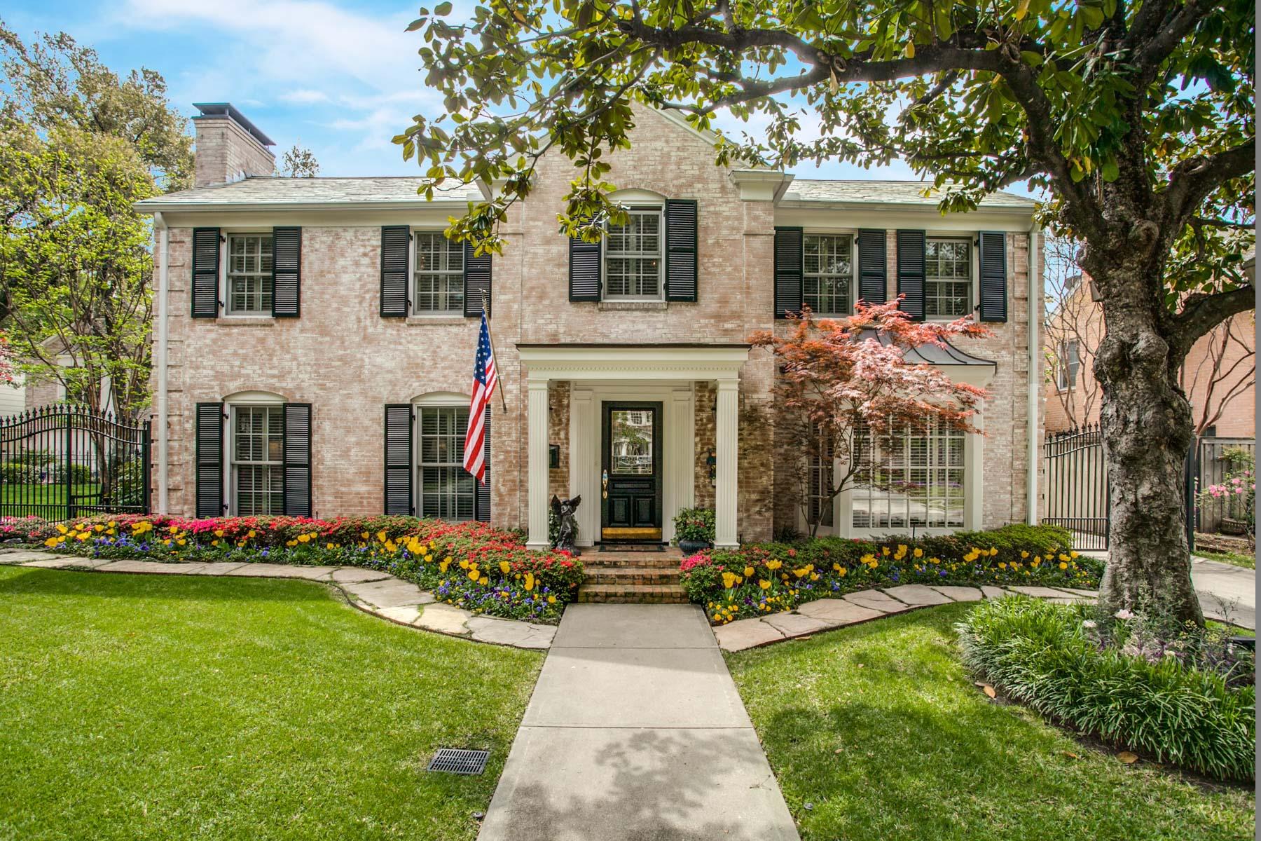 一戸建て のために 売買 アット 4417 Belclaire Avenue, Highland Park Highland Park, テキサス, 75205 アメリカ合衆国