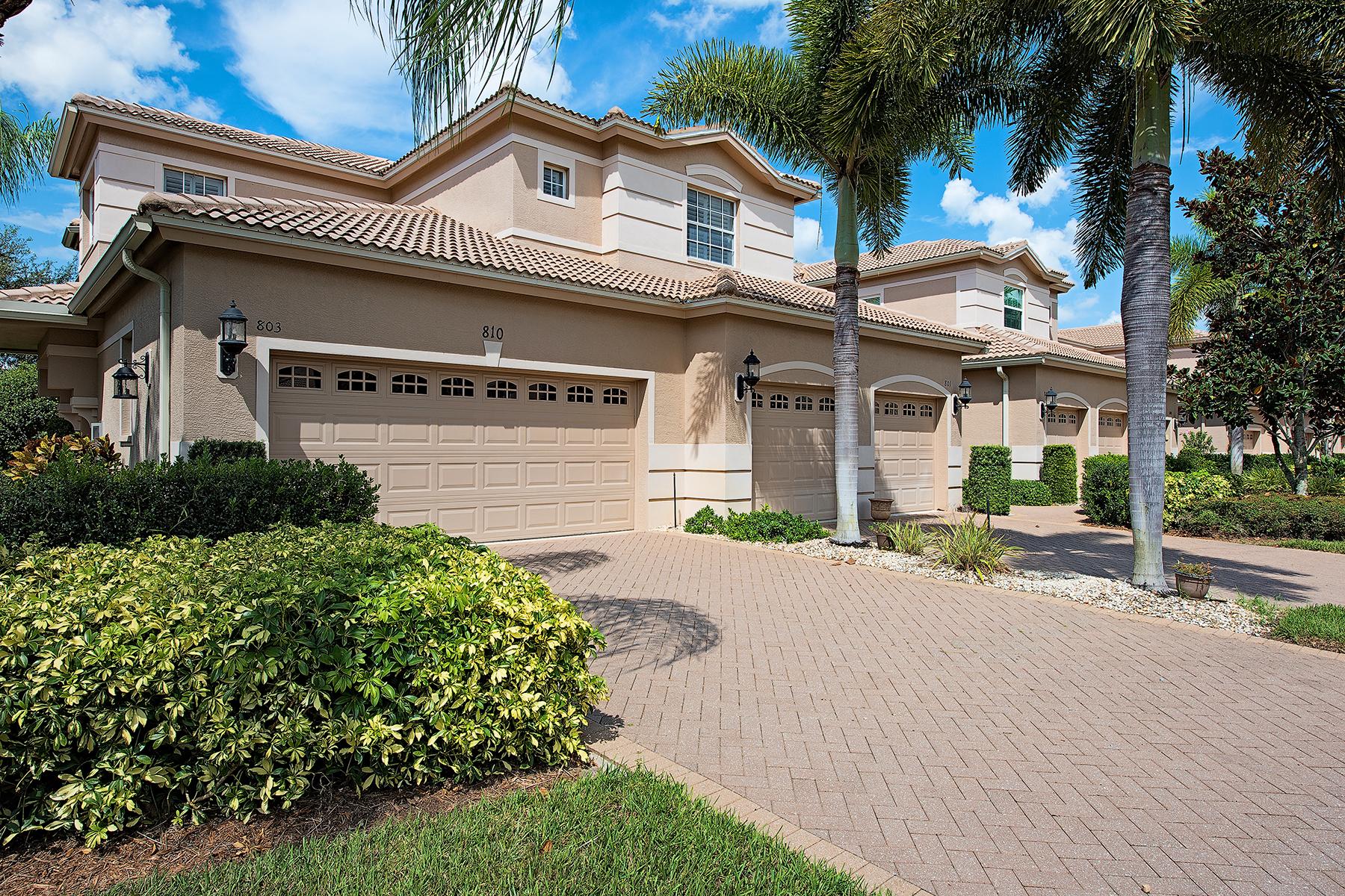 Eigentumswohnung für Verkauf beim VINEYARDS 810 Regency Reserve Cir 803 Naples, Florida 34119 Vereinigte Staaten
