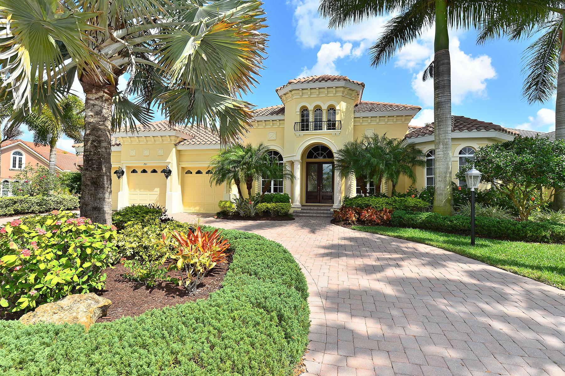 獨棟家庭住宅 為 出售 在 LAKEWOOD RANCH COUNTRY CLUB 7011 Dominion Ln Lakewood Ranch, 佛羅里達州 34202 美國