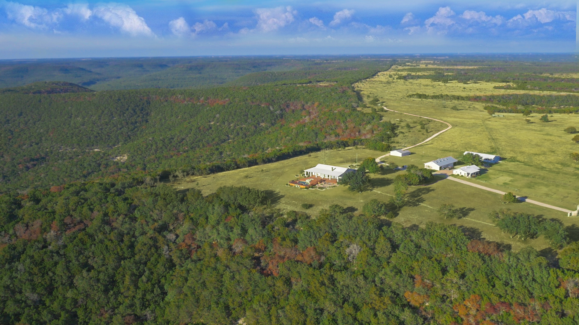 Farm / Ranch / Plantation for Active at Sunset Ranch House with 2,282 Acres F M Road 1431 Austin, Texas 78654 United States